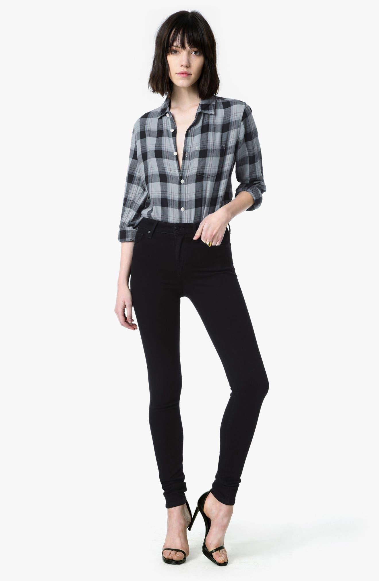 'Flawless - Charlie' Skinny Jeans,                             Alternate thumbnail 2, color,                             Regan