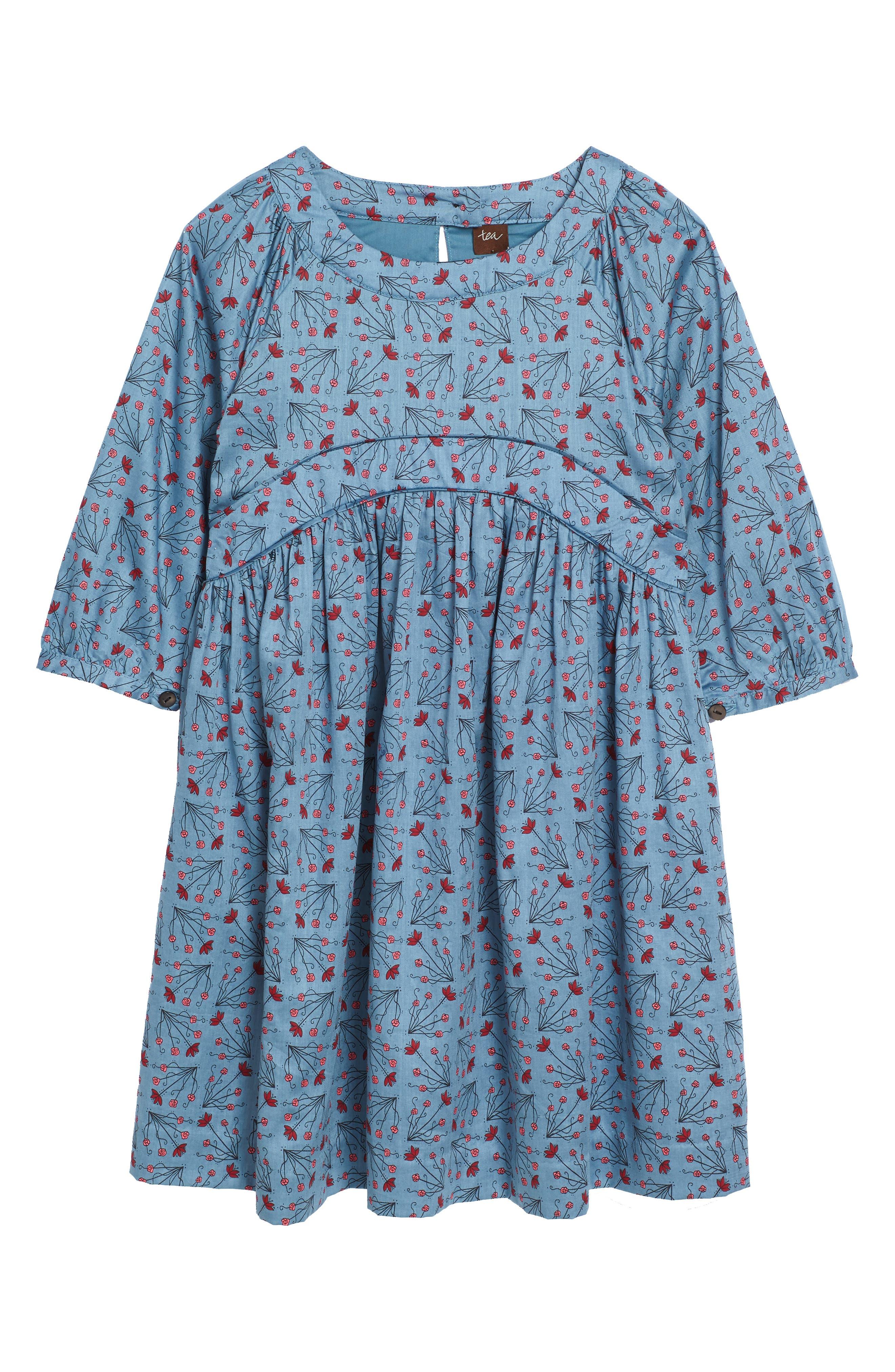 Main Image - Tea Collection Aviemore Empire Dress (Toddler Girls, Little Girls & Big Girls)