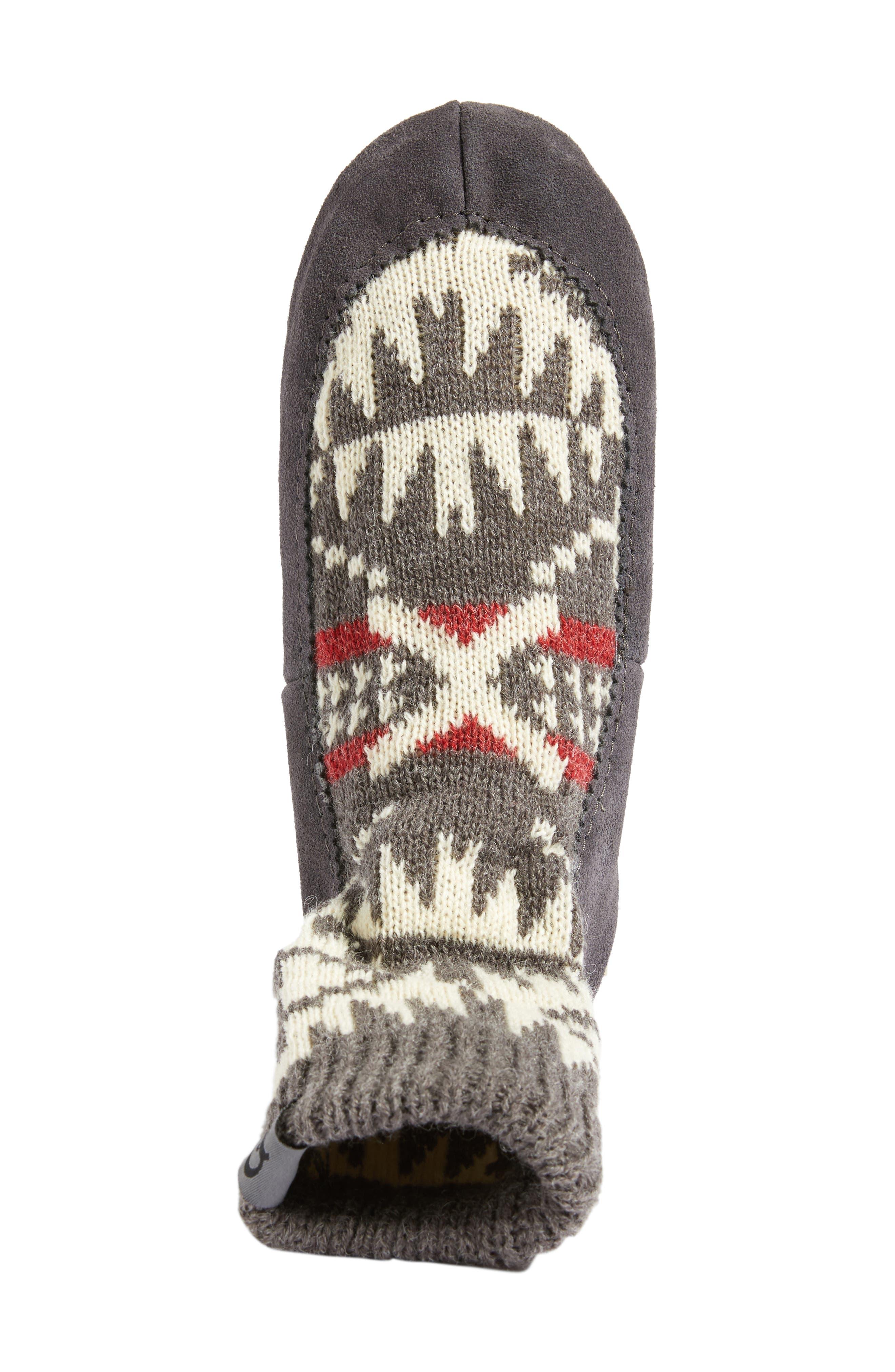 Alternate Image 5  - Pendleton Spider Rock Homestead Slipper Socks