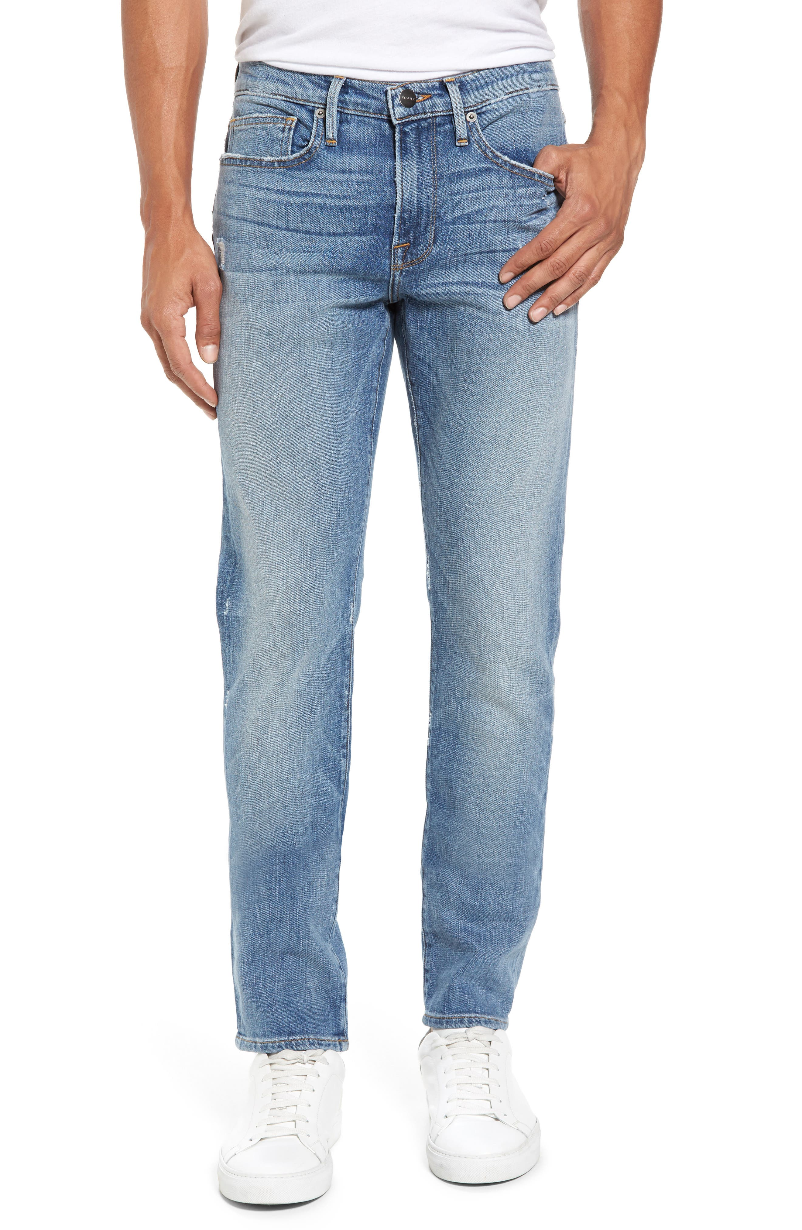 L'Homme Slim Fit Jeans,                         Main,                         color, Beaudry