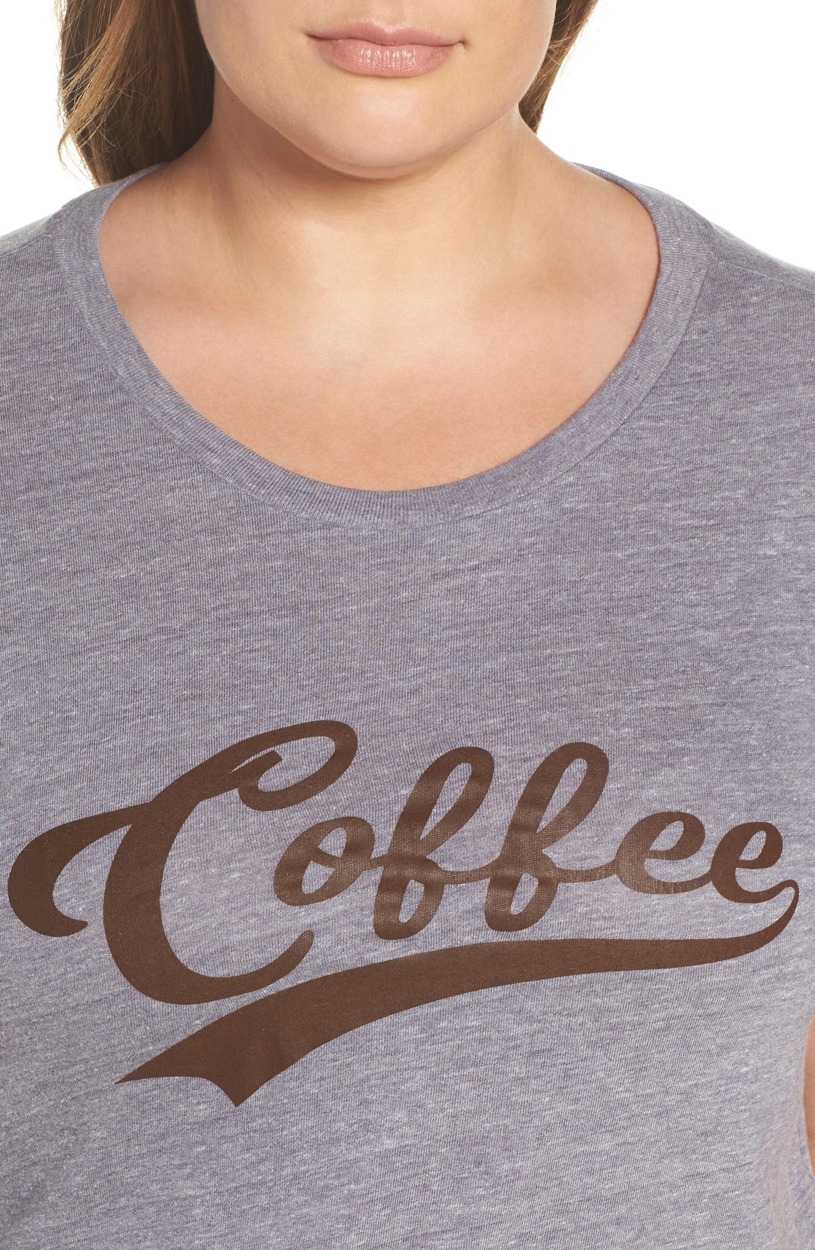 Alternate Image 4  - Sub_Urban Riot Coffee Graphic Tee (Plus Size)