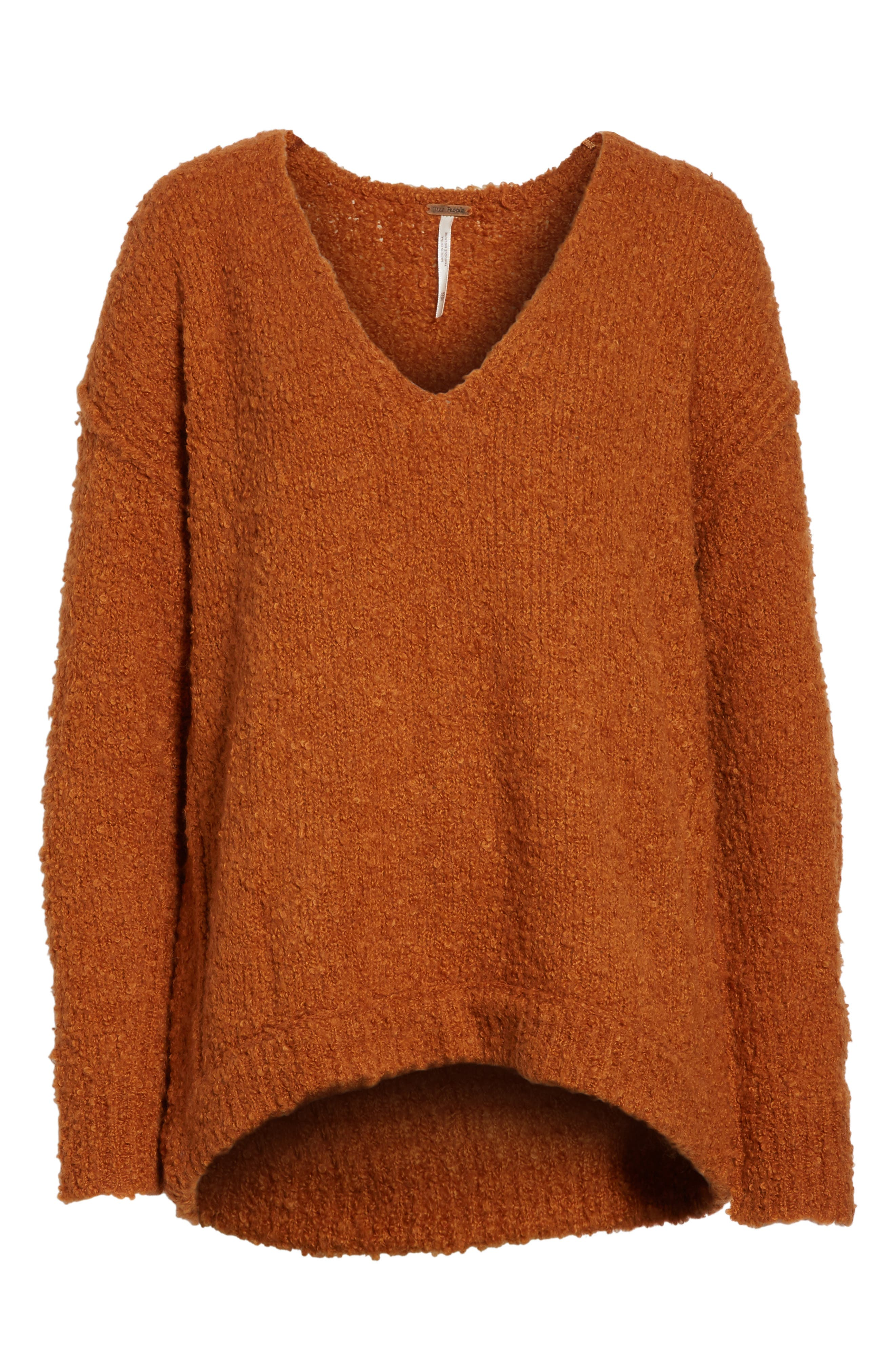 Alternate Image 6  - Free People Lofty V-Neck Sweater