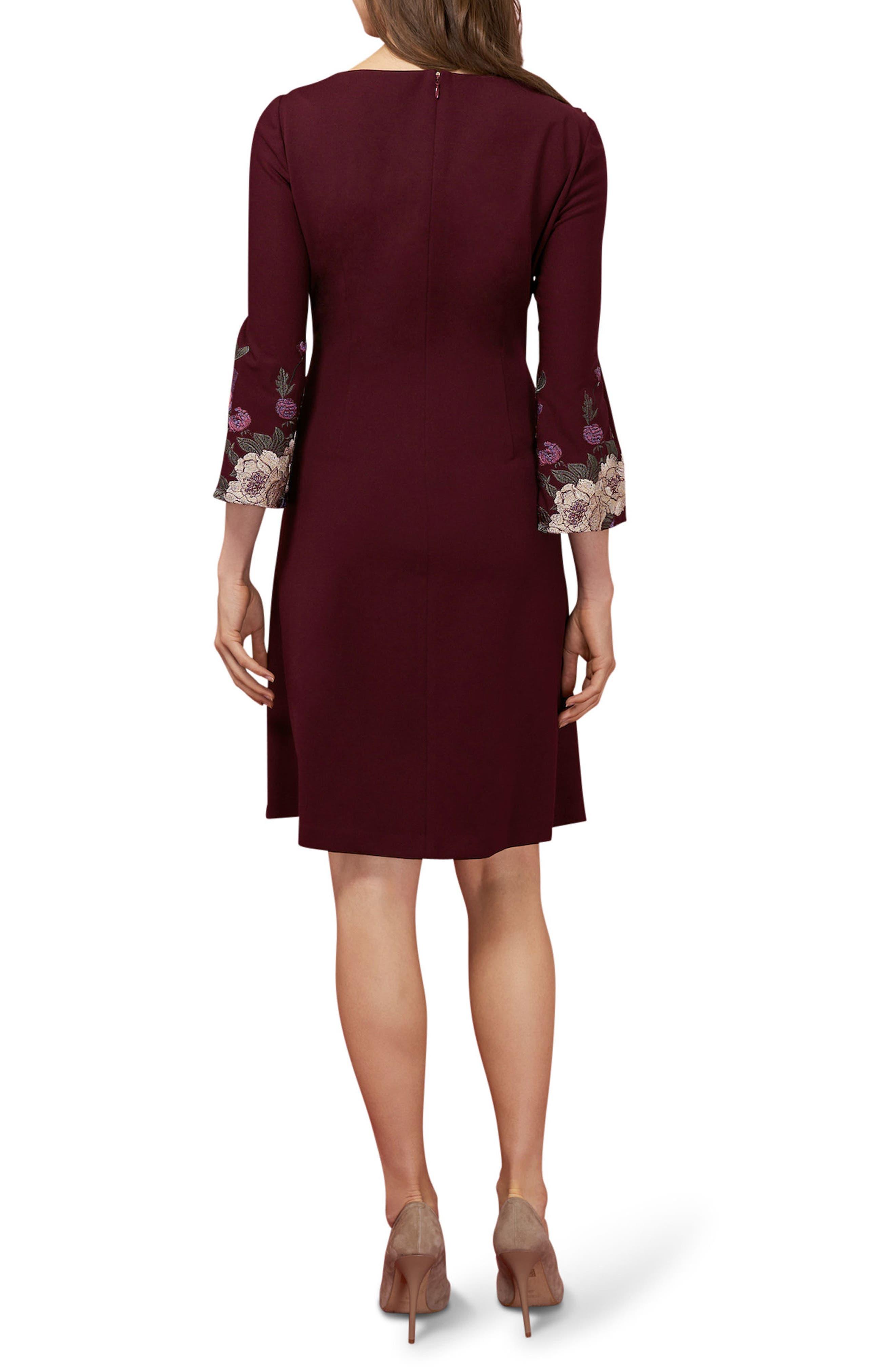 Alternate Image 2  - ECI Floral Sheath Dress