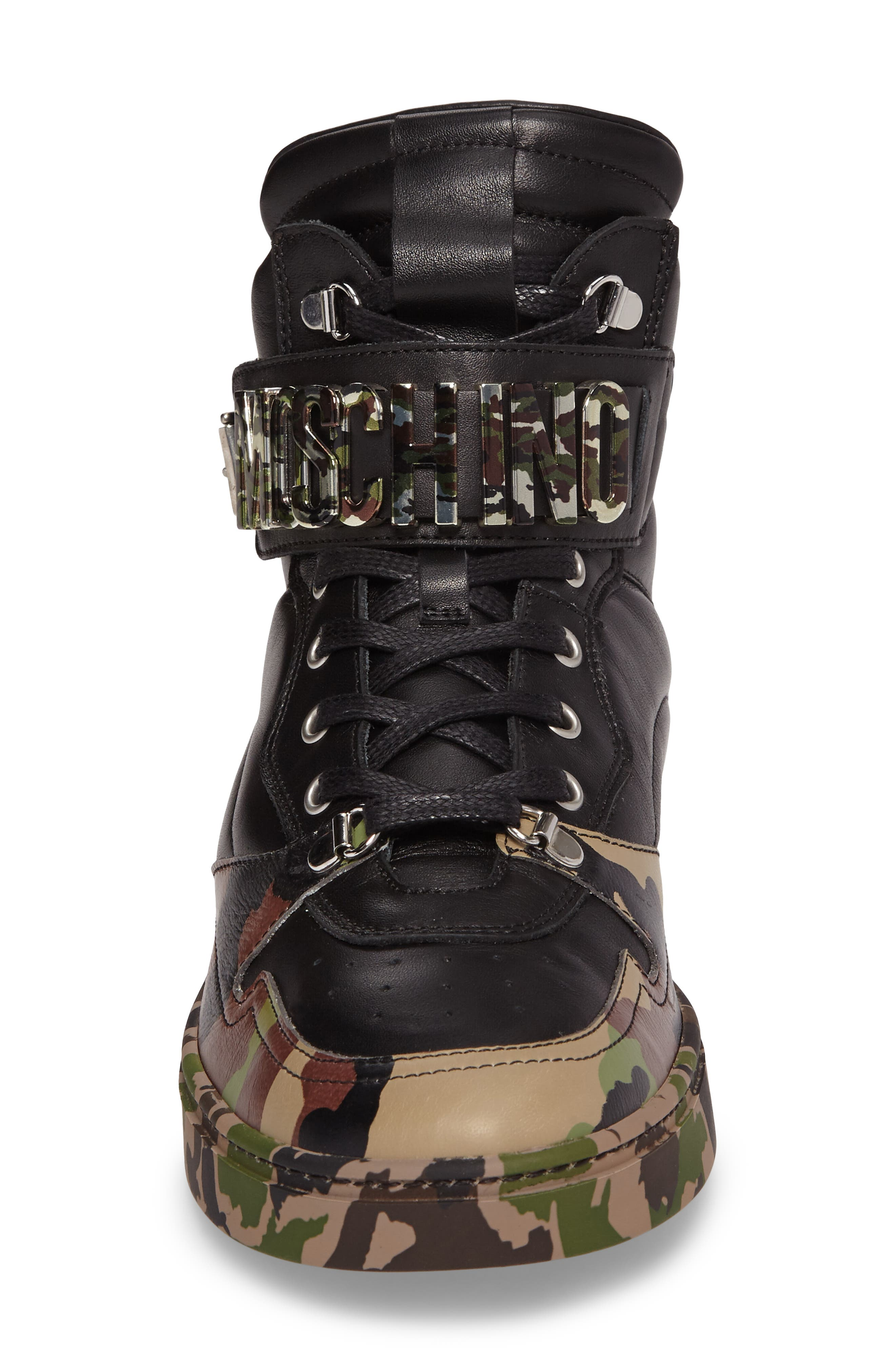 Alternate Image 4  - Moschino High Top Sneaker (Men)