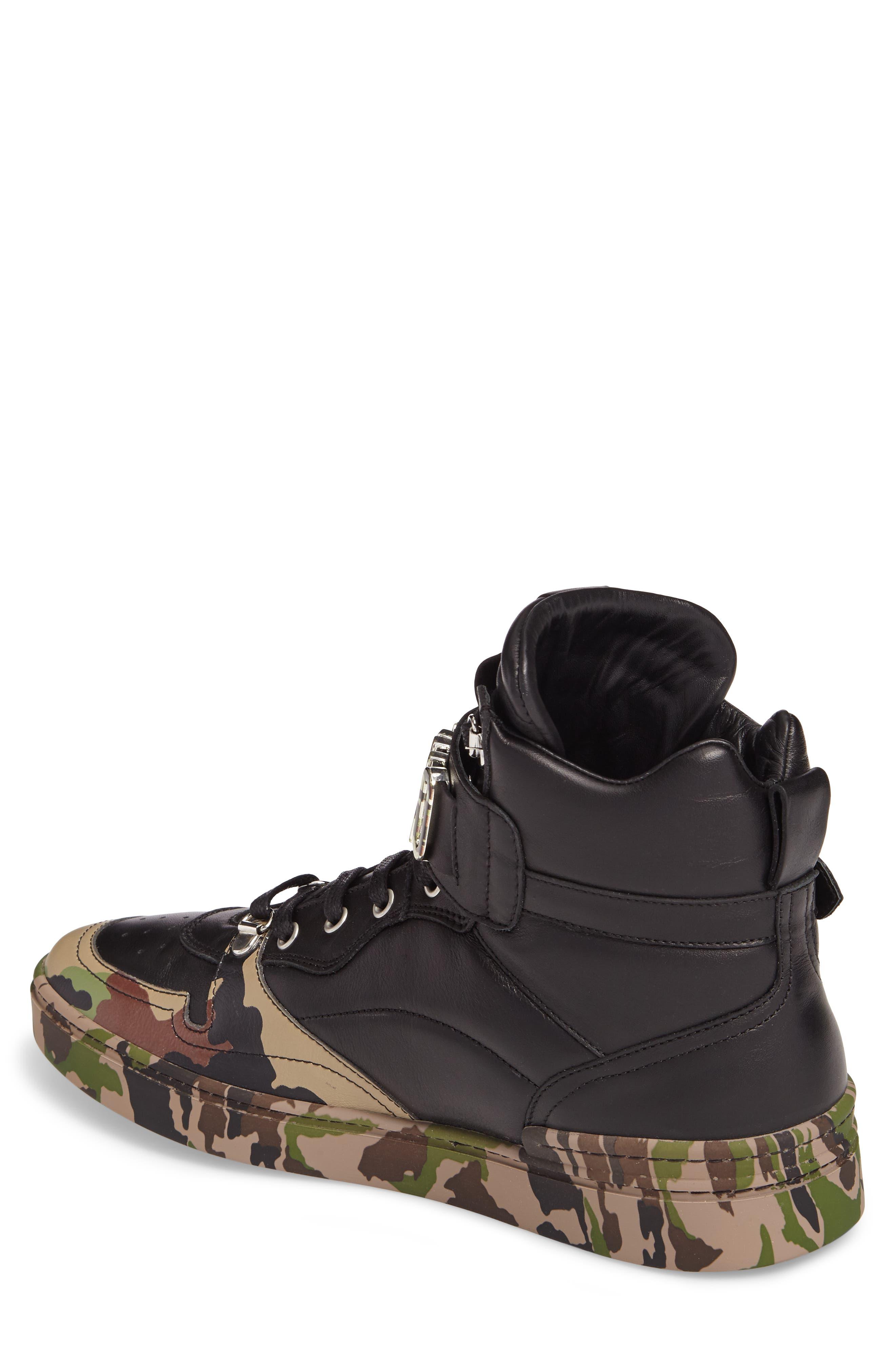 Alternate Image 2  - Moschino High Top Sneaker (Men)