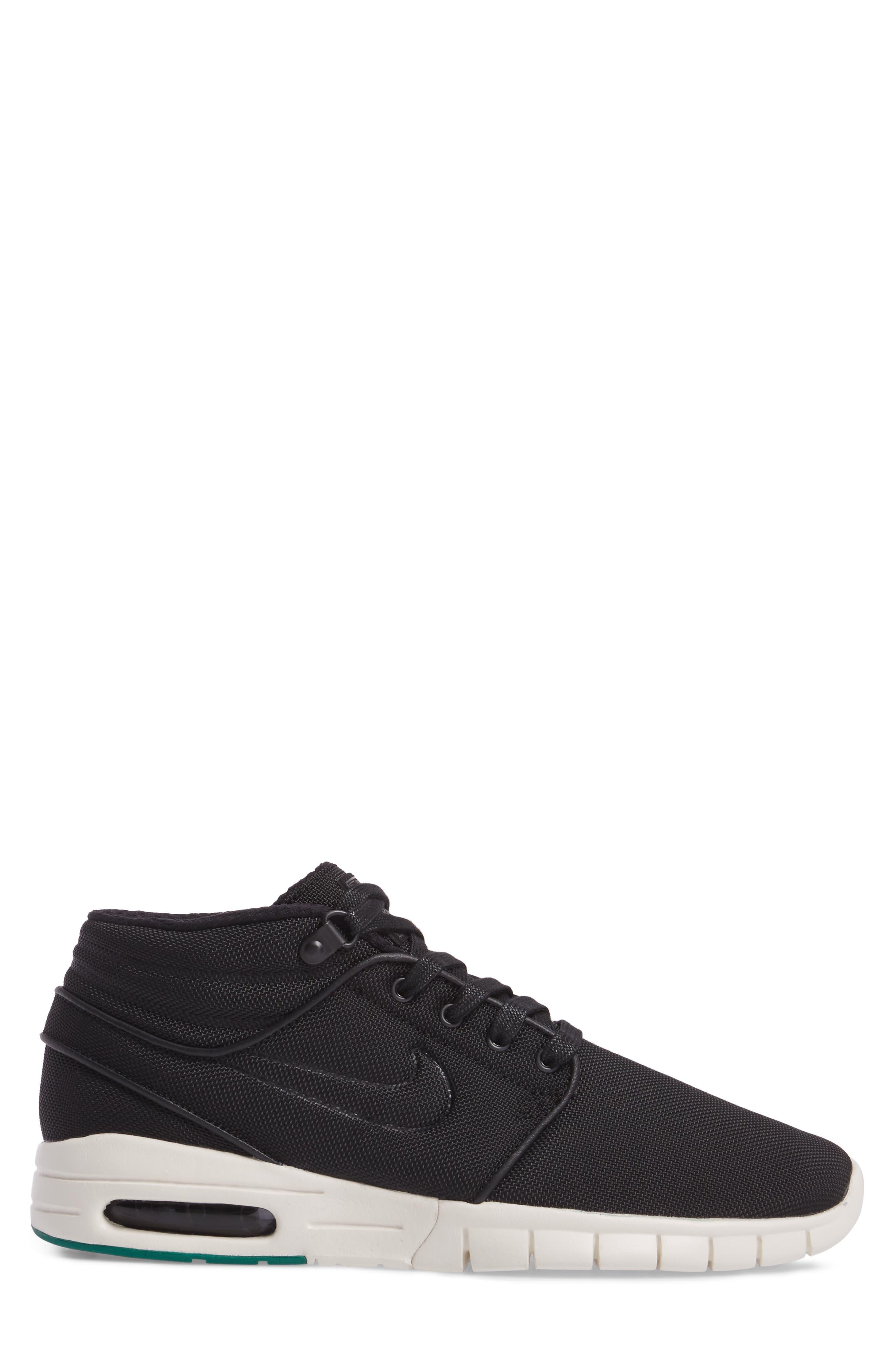 Alternate Image 3  - Nike SB Stefan Janoski Max Mid Skate Shoe (Men)