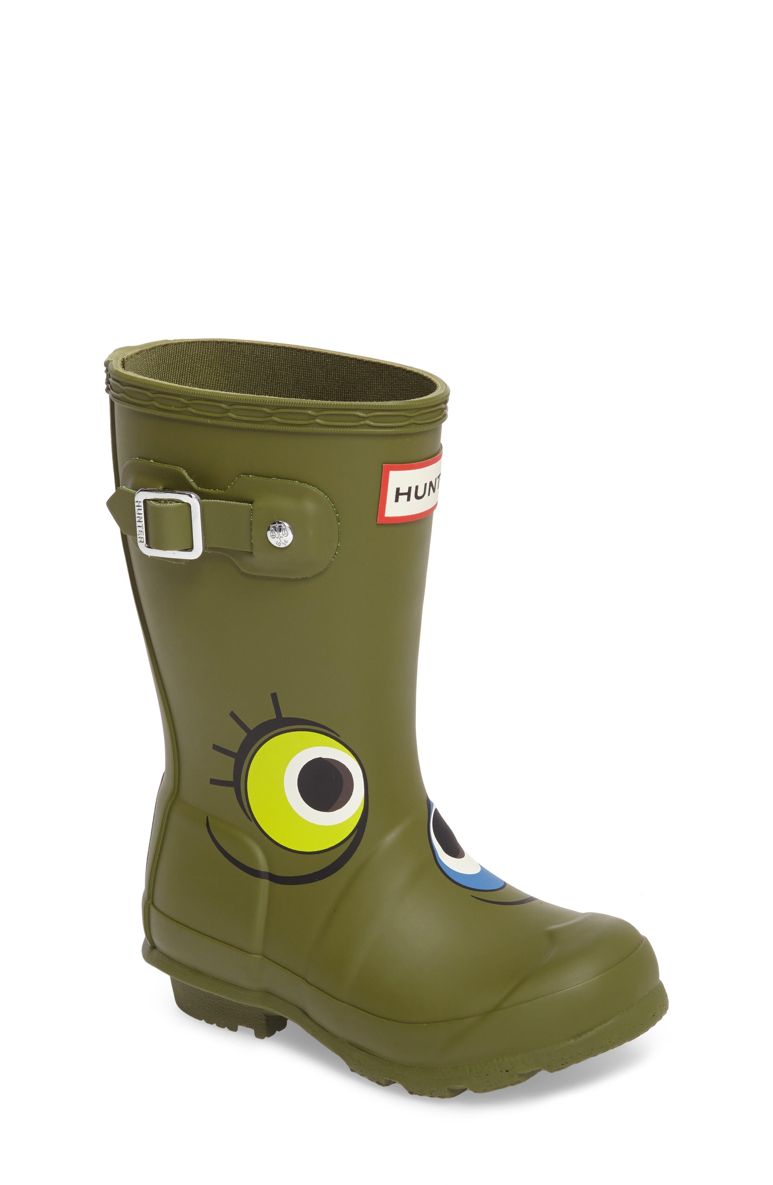 Main Image - Hunter Alien Waterproof Rain Boot (Toddler)