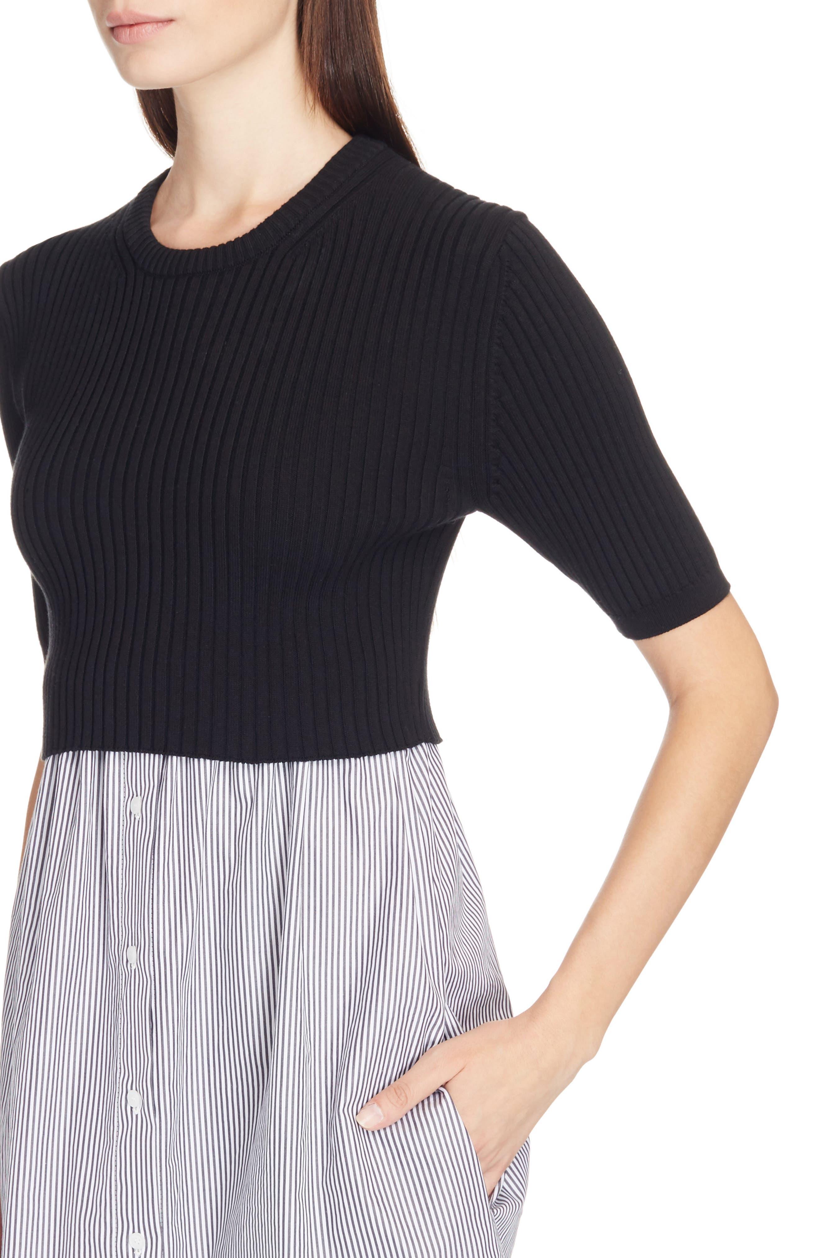 Alternate Image 4  - KENZO Knit Pullover Shirtdress