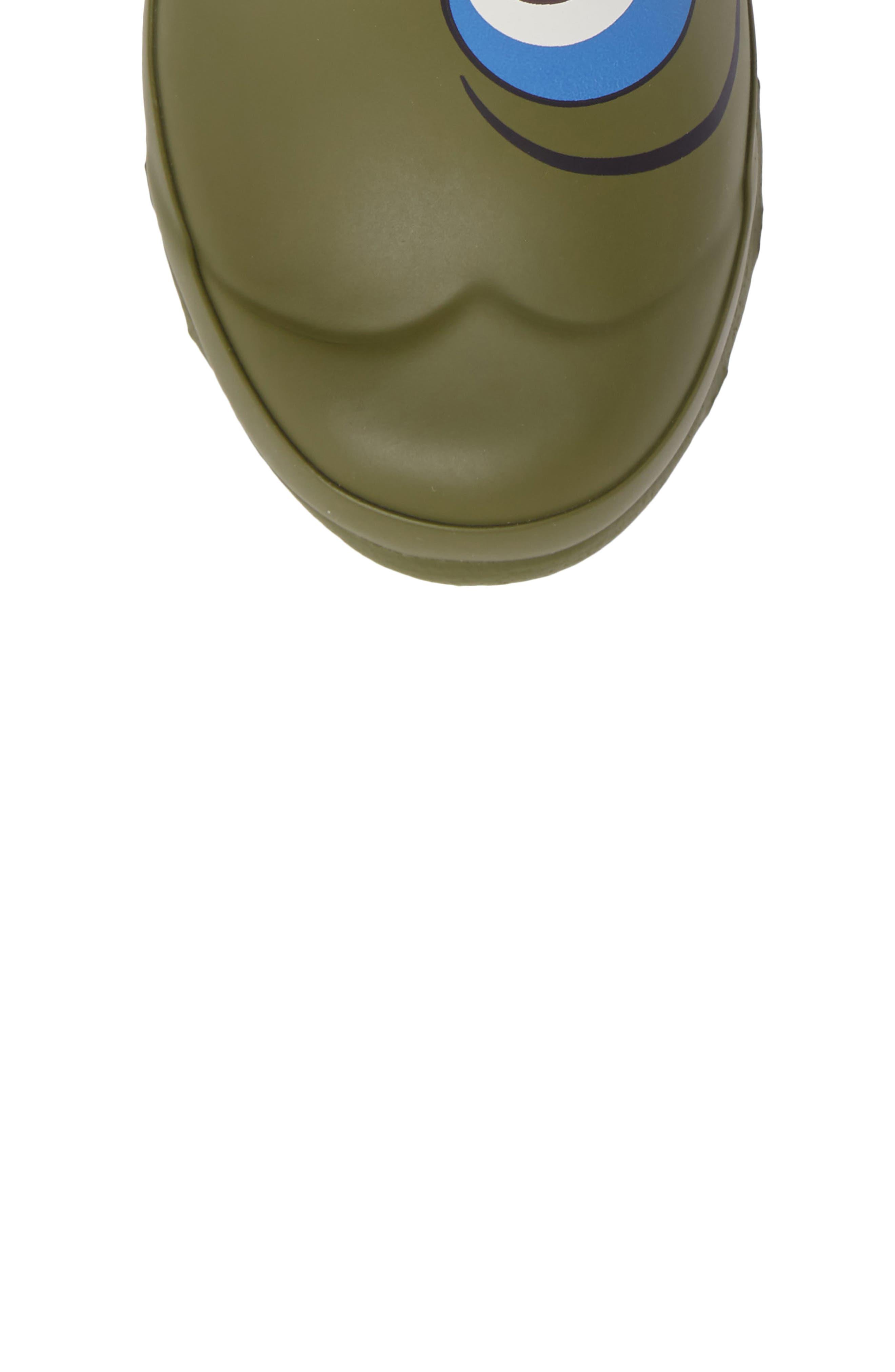 Alternate Image 5  - Hunter Alien Waterproof Rain Boot (Toddler)