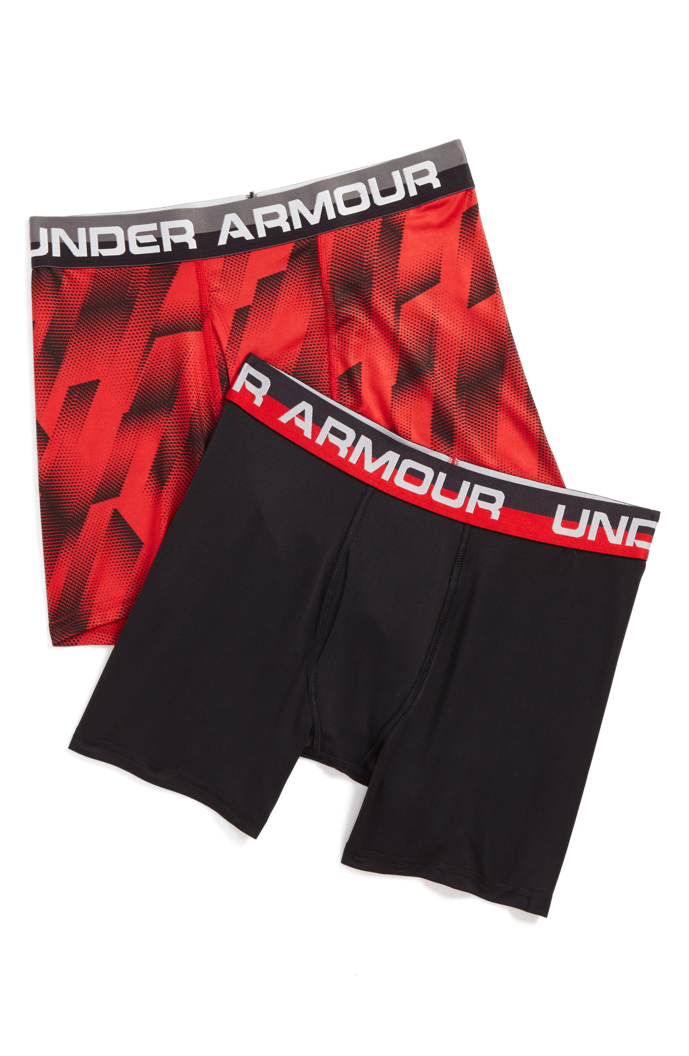 Alternate Image 1 Selected - Under Armour Sandstorm 2-Pack Boxerjock™ Boxer Briefs (Big Boys)