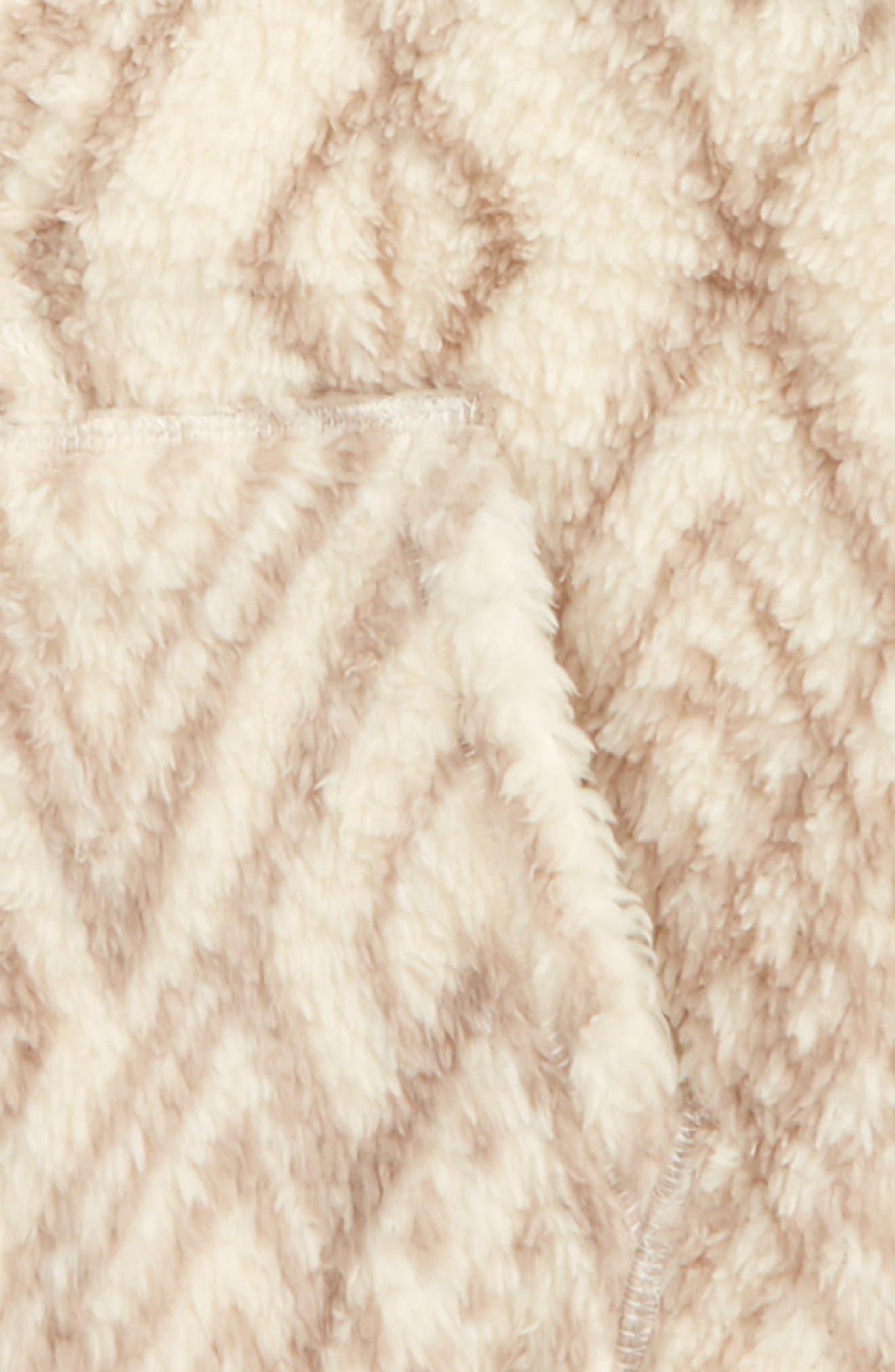 New Love Faux Fur Hoodie,                             Alternate thumbnail 4, color,                             White Cap