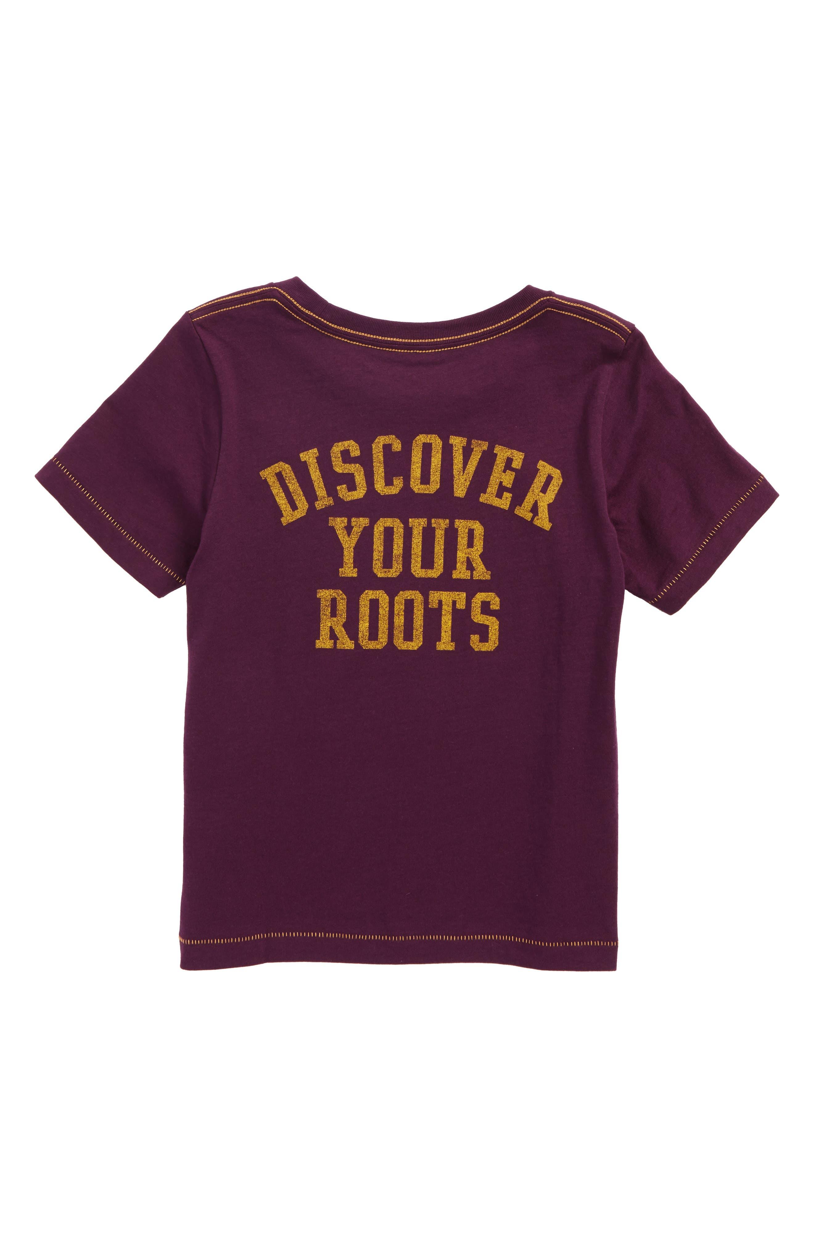 The Conifer Graphic T-Shirt,                             Alternate thumbnail 2, color,                             Plum
