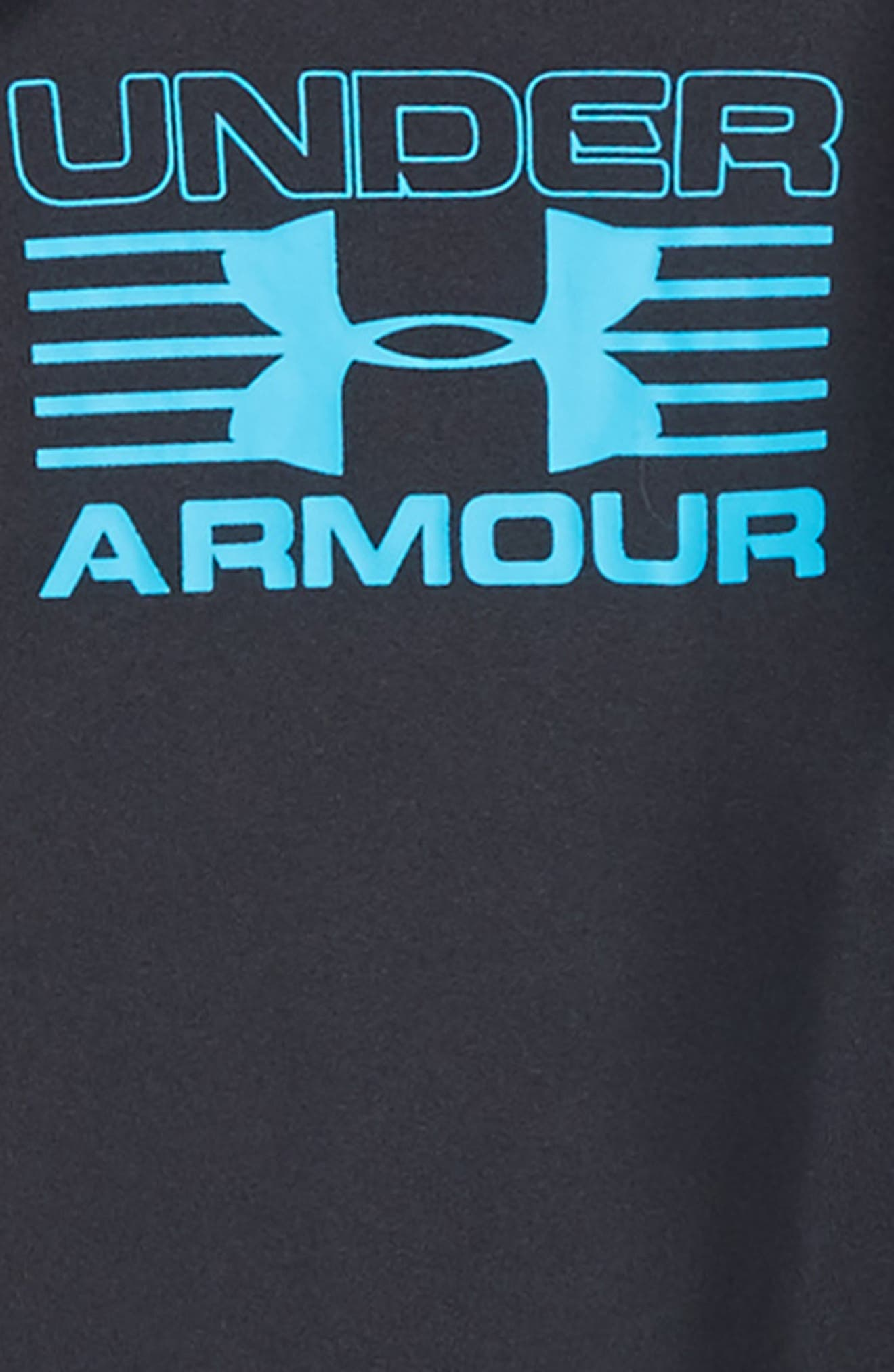 Hooded T-Shirt,                             Alternate thumbnail 2, color,                             Anthracite
