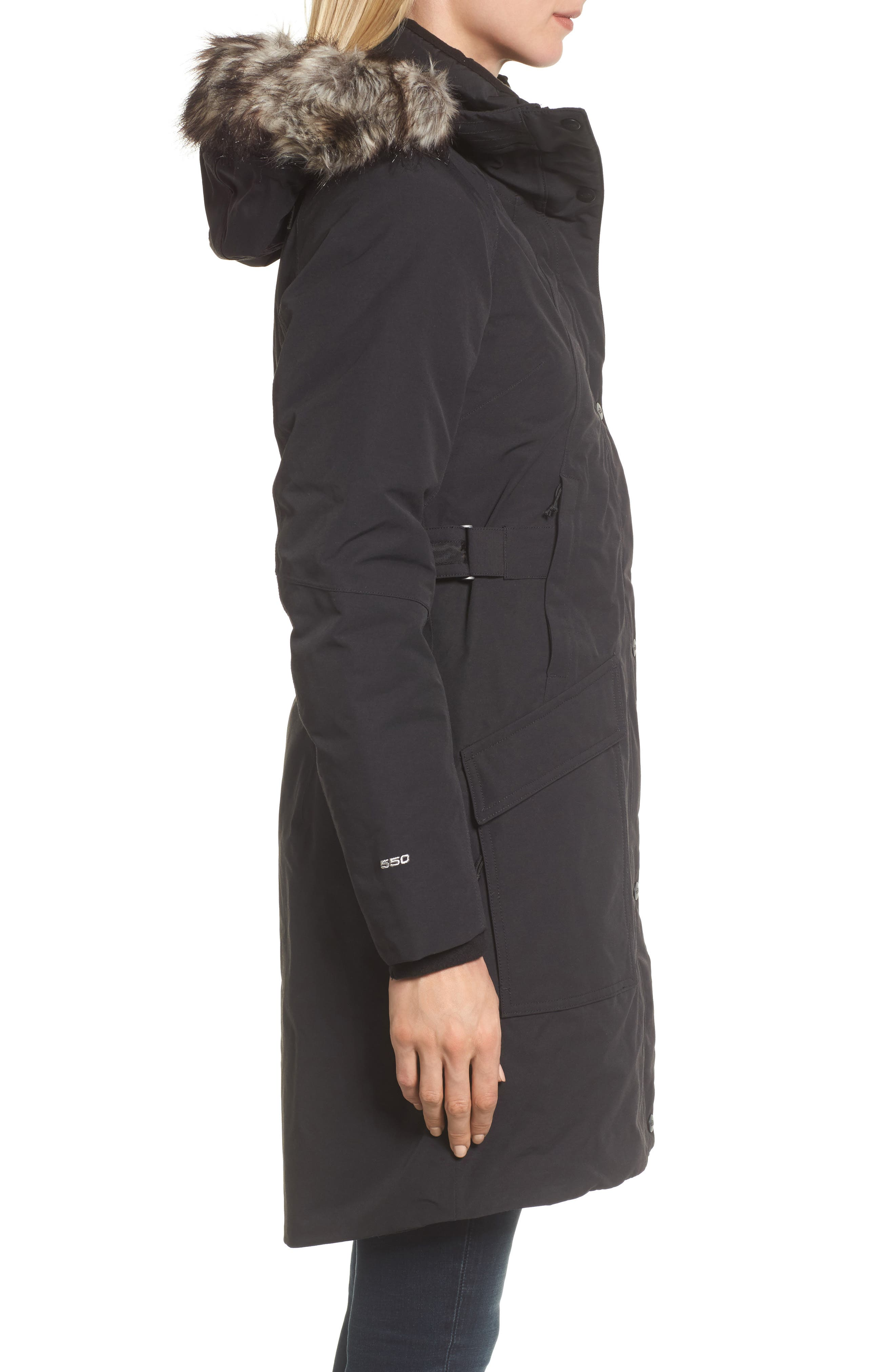 Alternate Image 3  - The North Face Outer Boroughs Waterproof 550-Fill Power Down Parka with Faux Fur Trim