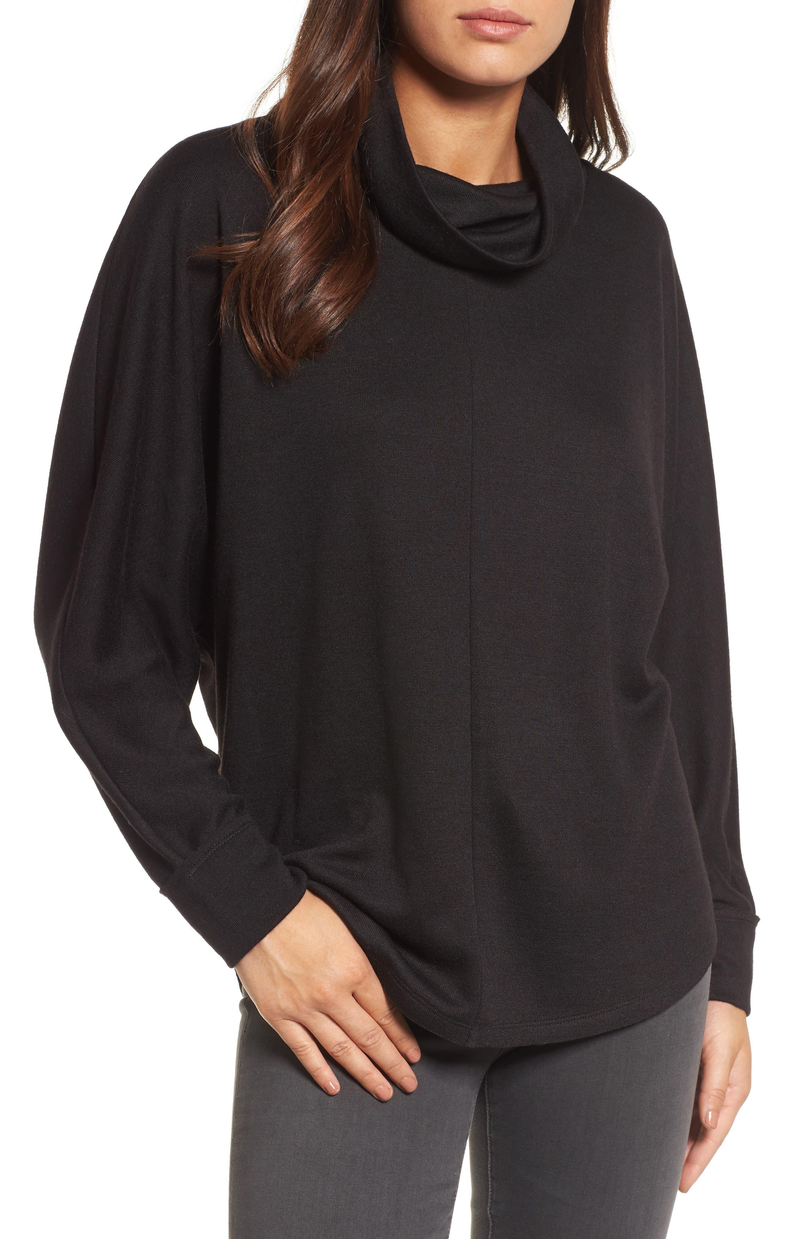 Caslon® Cowl Neck Pullover
