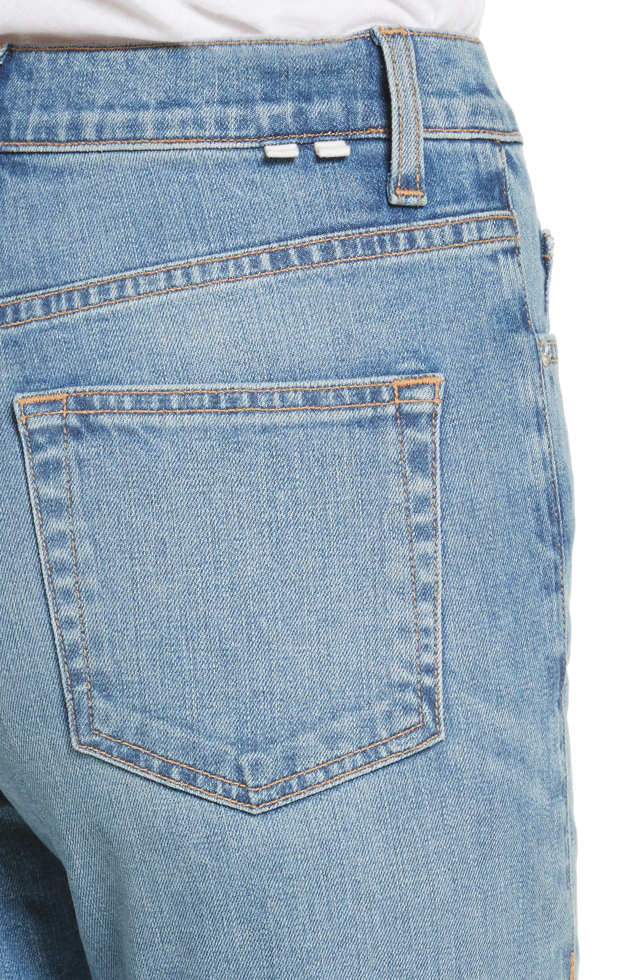 Alternate Image 4  - Proenza Schouler PSWL Straight Leg Jeans
