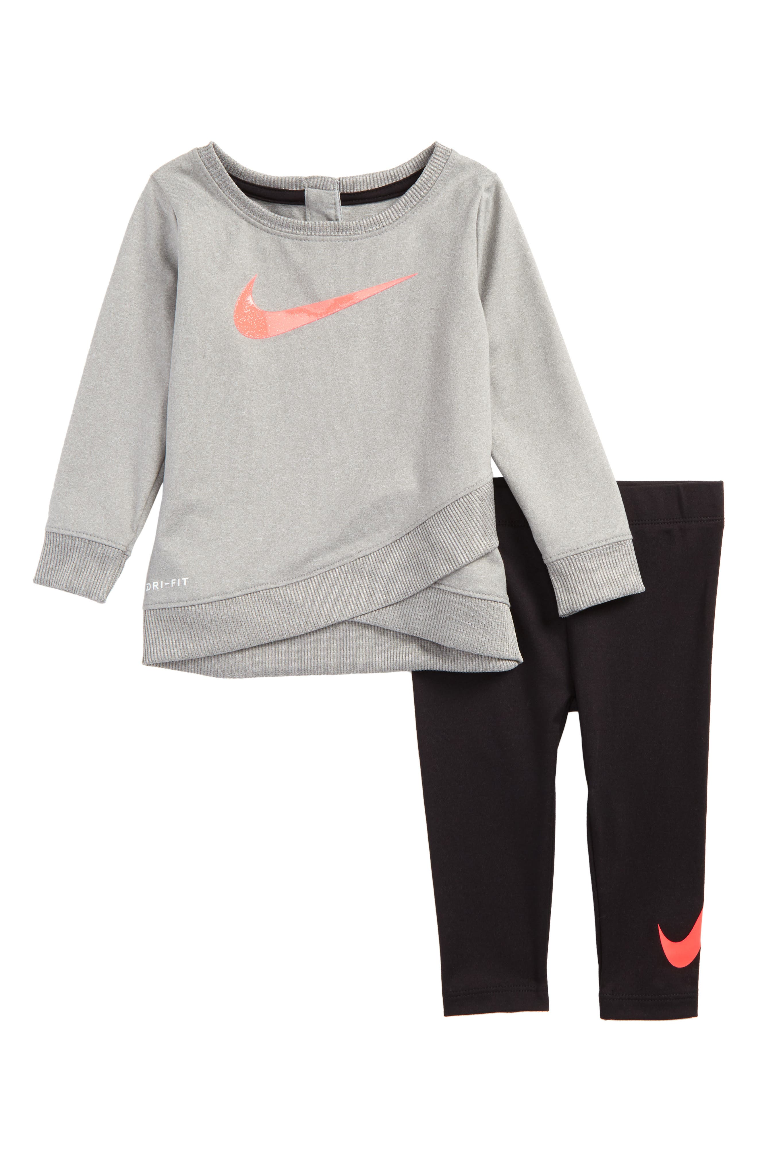 Nike Dry Tunic & Leggings Set (Baby Girls)
