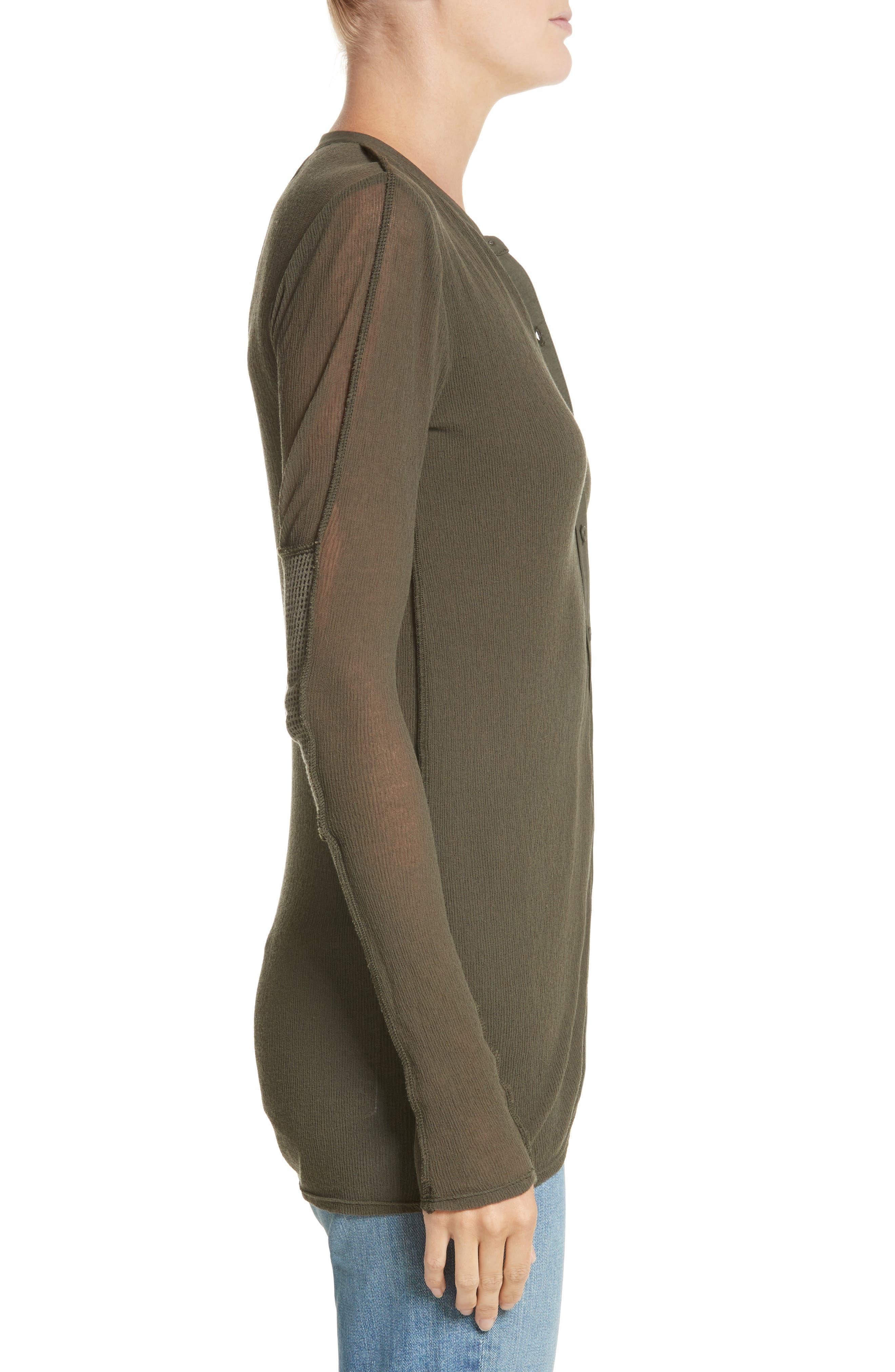 Alternate Image 3  - Proenza Schouler PSWL Jersey Gauze Top