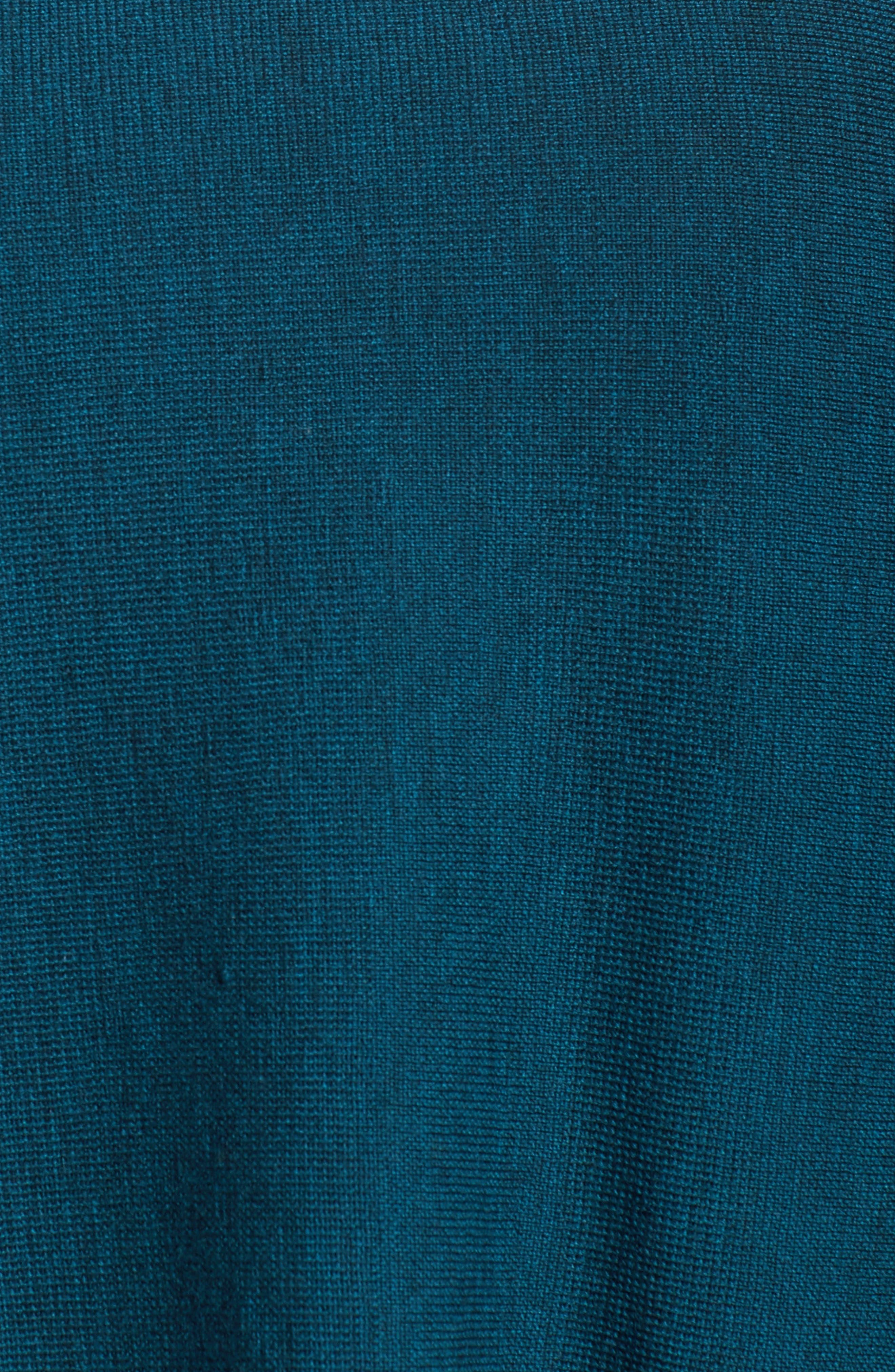 Alternate Image 5  - Eileen Fisher Crop Merino Wool Sweater (Plus Size)