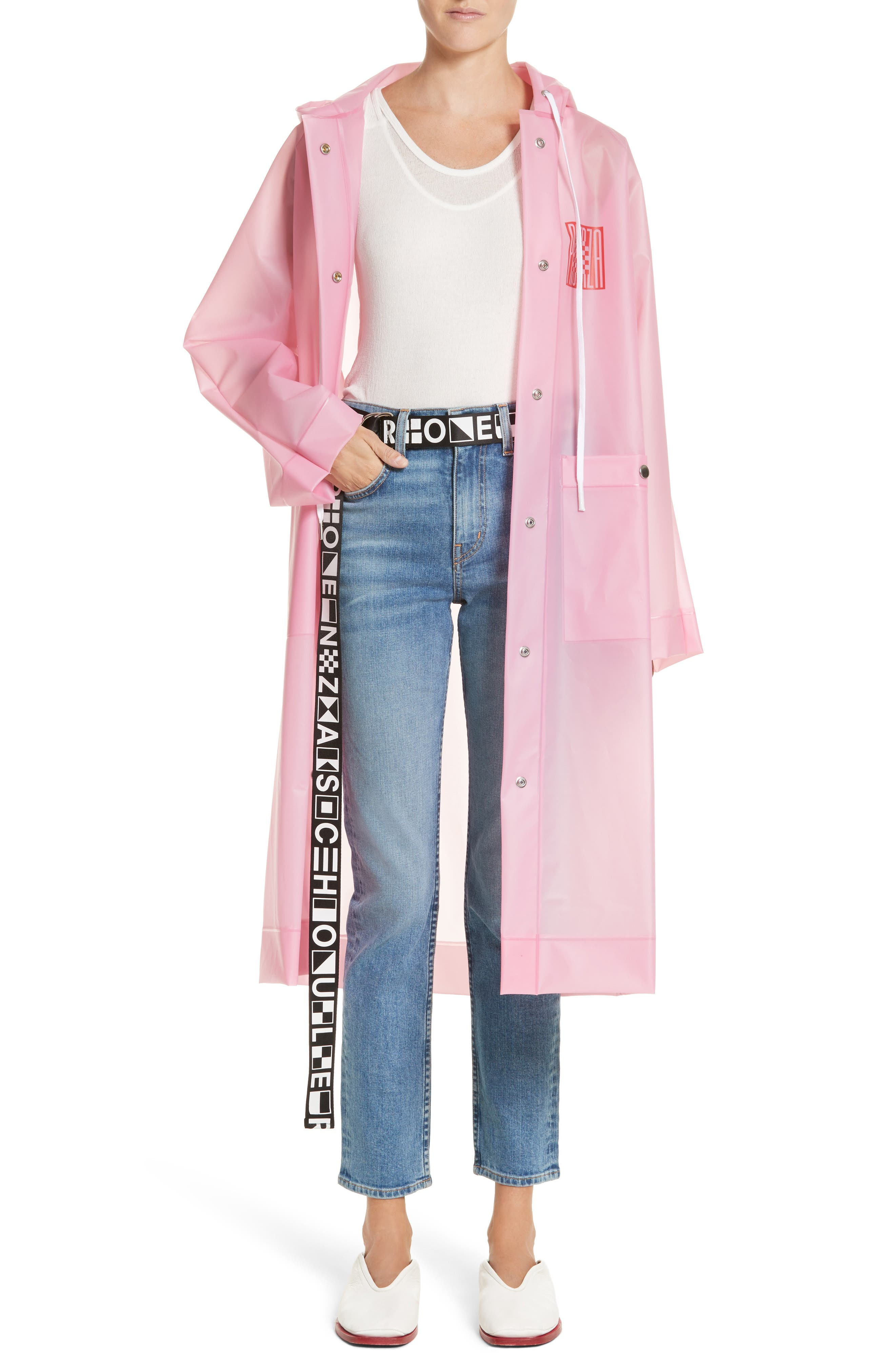 Alternate Image 6  - Proenza Schouler PSWL Graphic Raincoat