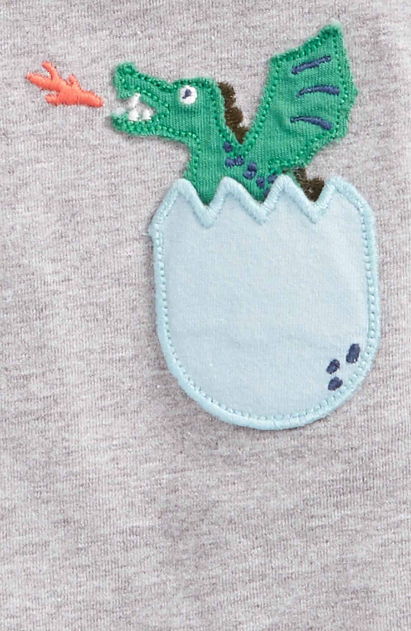 Alternate Image 2  - Mini Boden Adventure Pocket T-Shirt (Baby Boys & Toddler Boys)