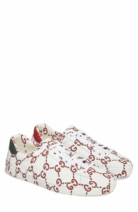 86f38993f05 Gucci New Ace GG Print Sneaker (Men)