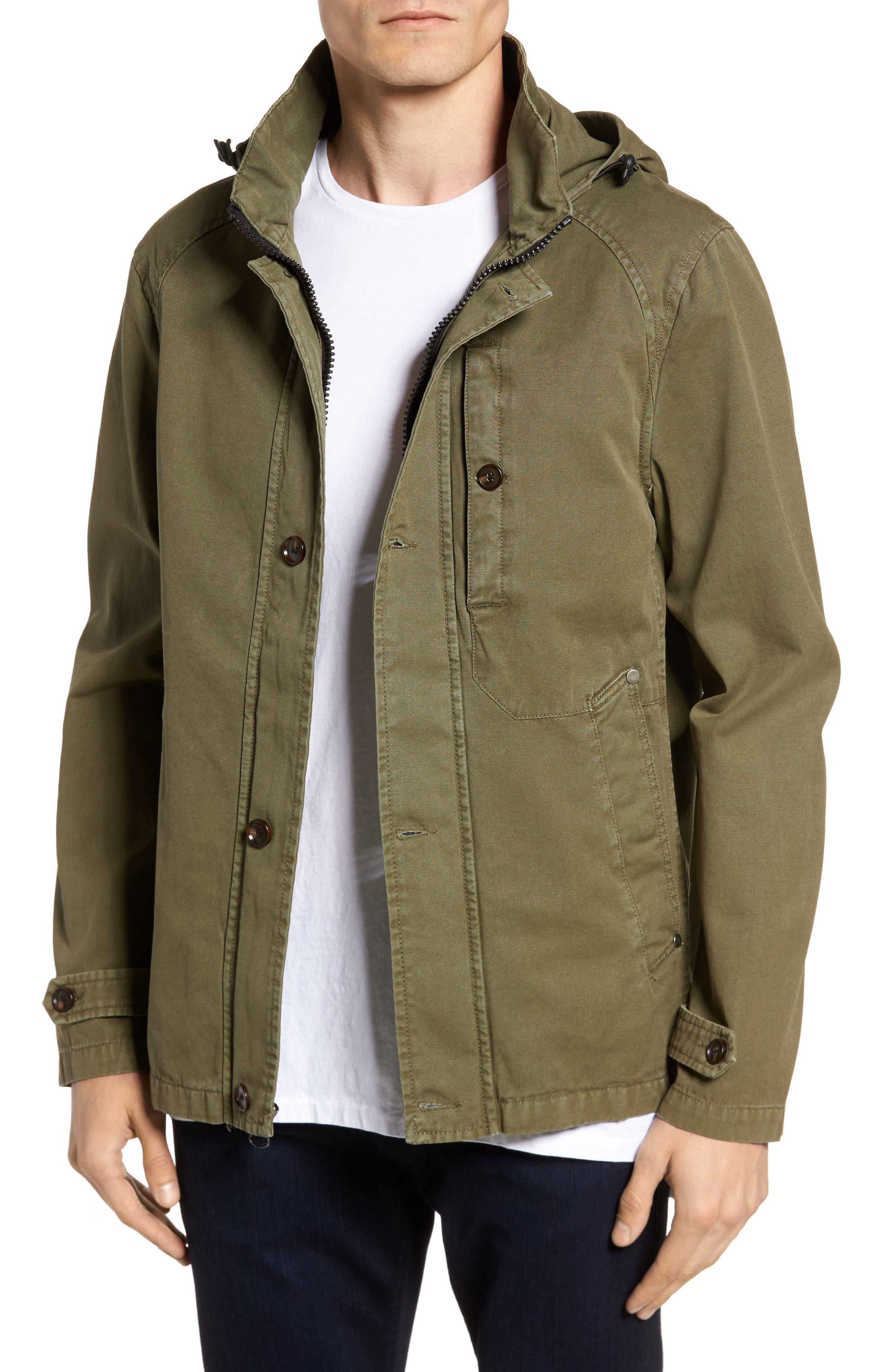 Civil Society Herman Twill Hooded Jacket