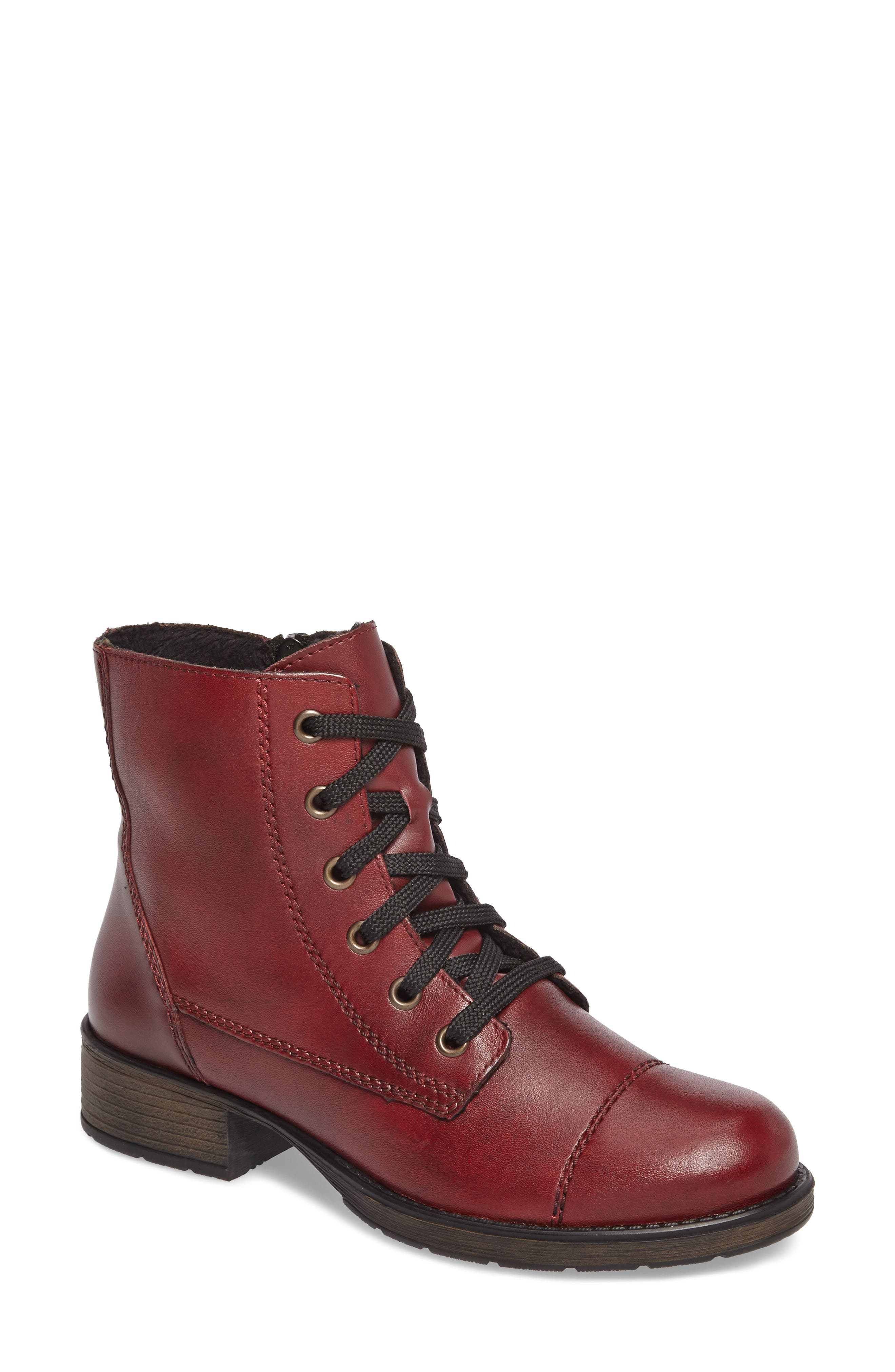 Alternate Image 1 Selected - Rieker Antistress Faith 10 Lace-Up Boot (Women)