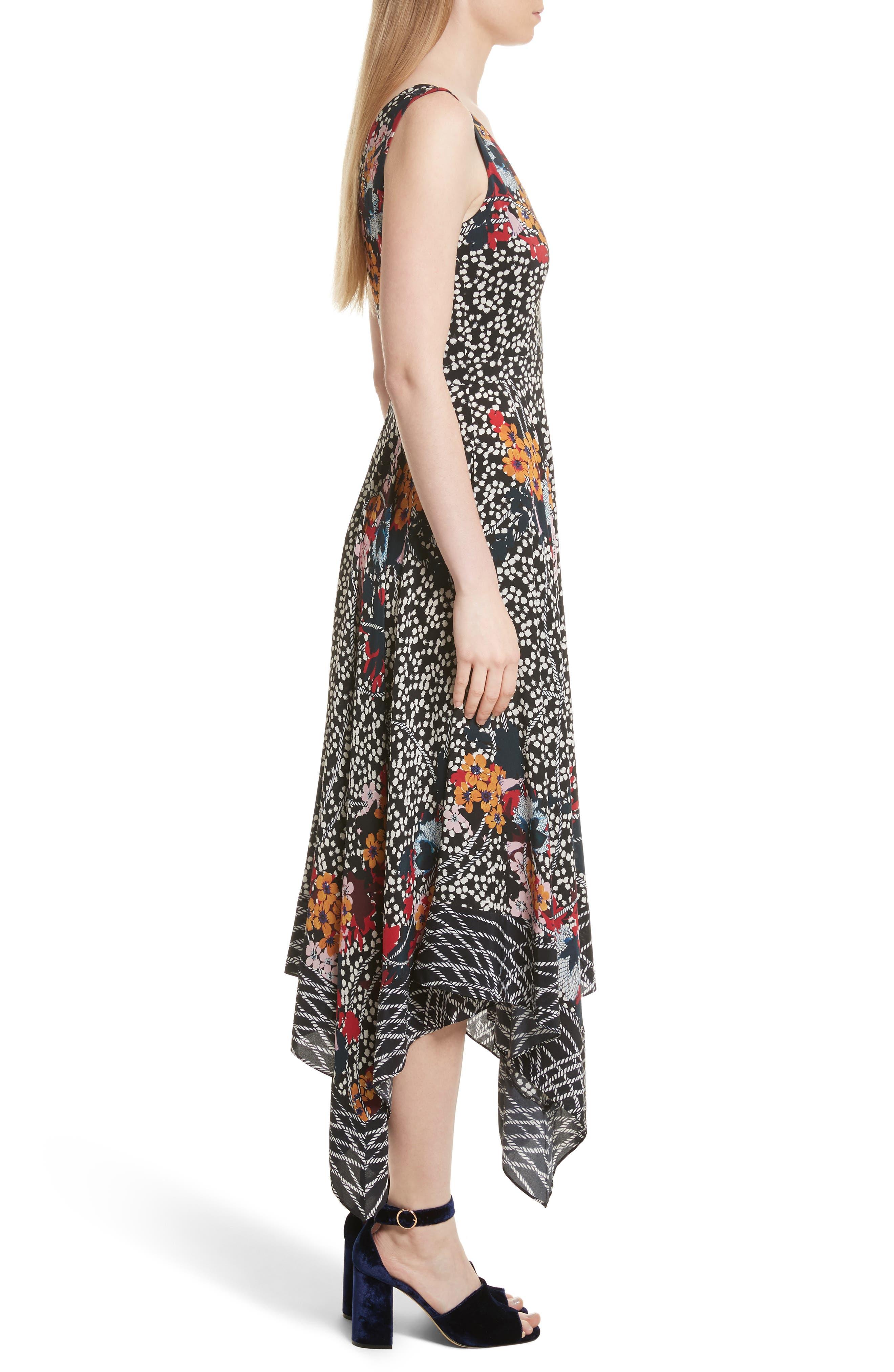 Alternate Image 3  - SALONI Zuri Floral Print Dress