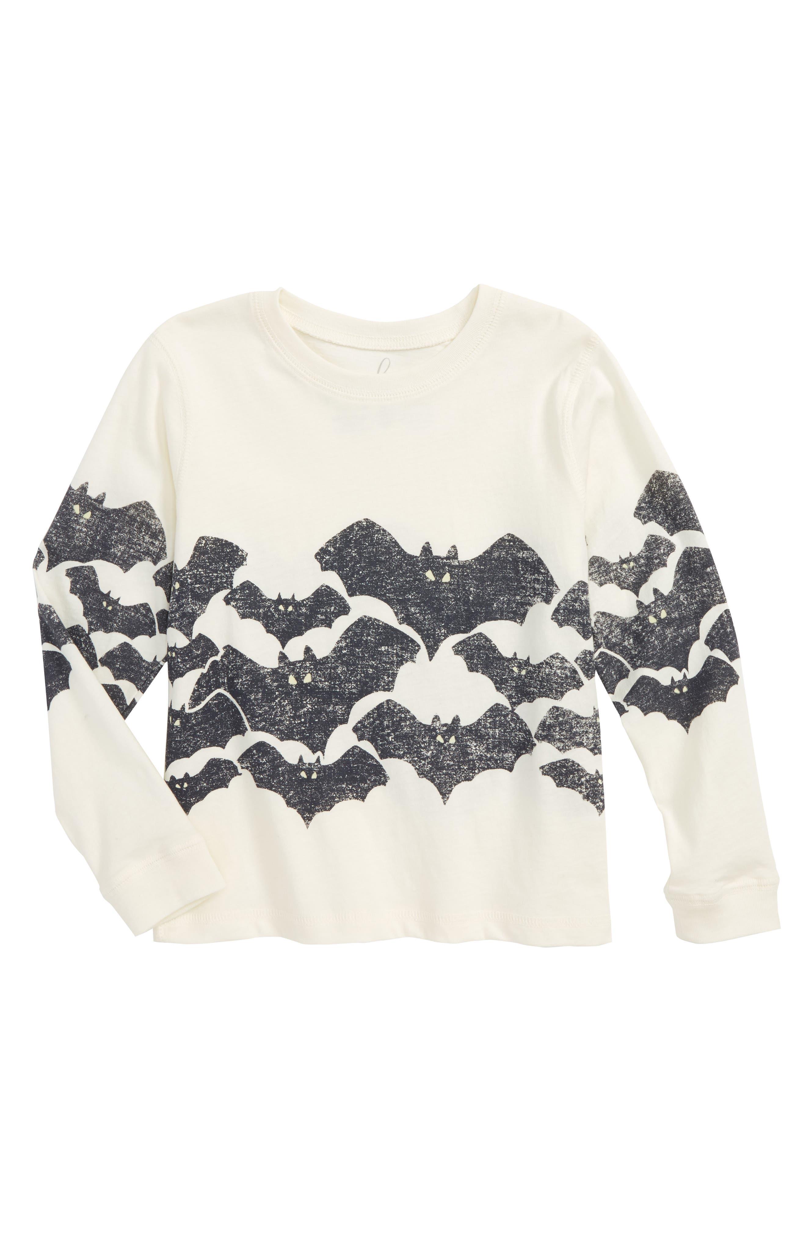 Alternate Image 1 Selected - Peek Bats Glow in the Dark T-Shirt (Toddler Boys, Little Boys & Big Boys)