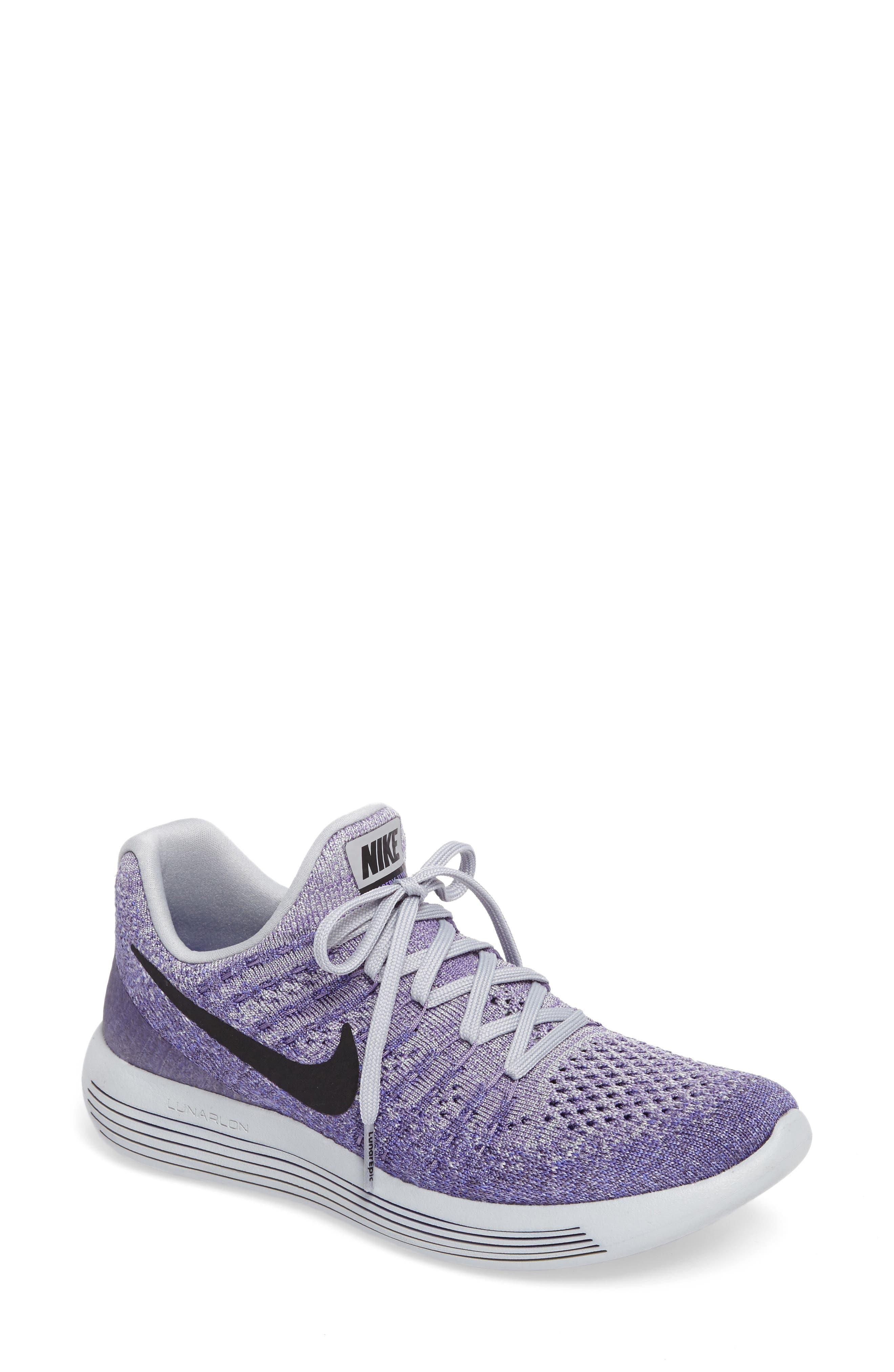 Alternate Image 1 Selected - Nike LunarEpic Low Flyknit 2 Running Shoe (Women)