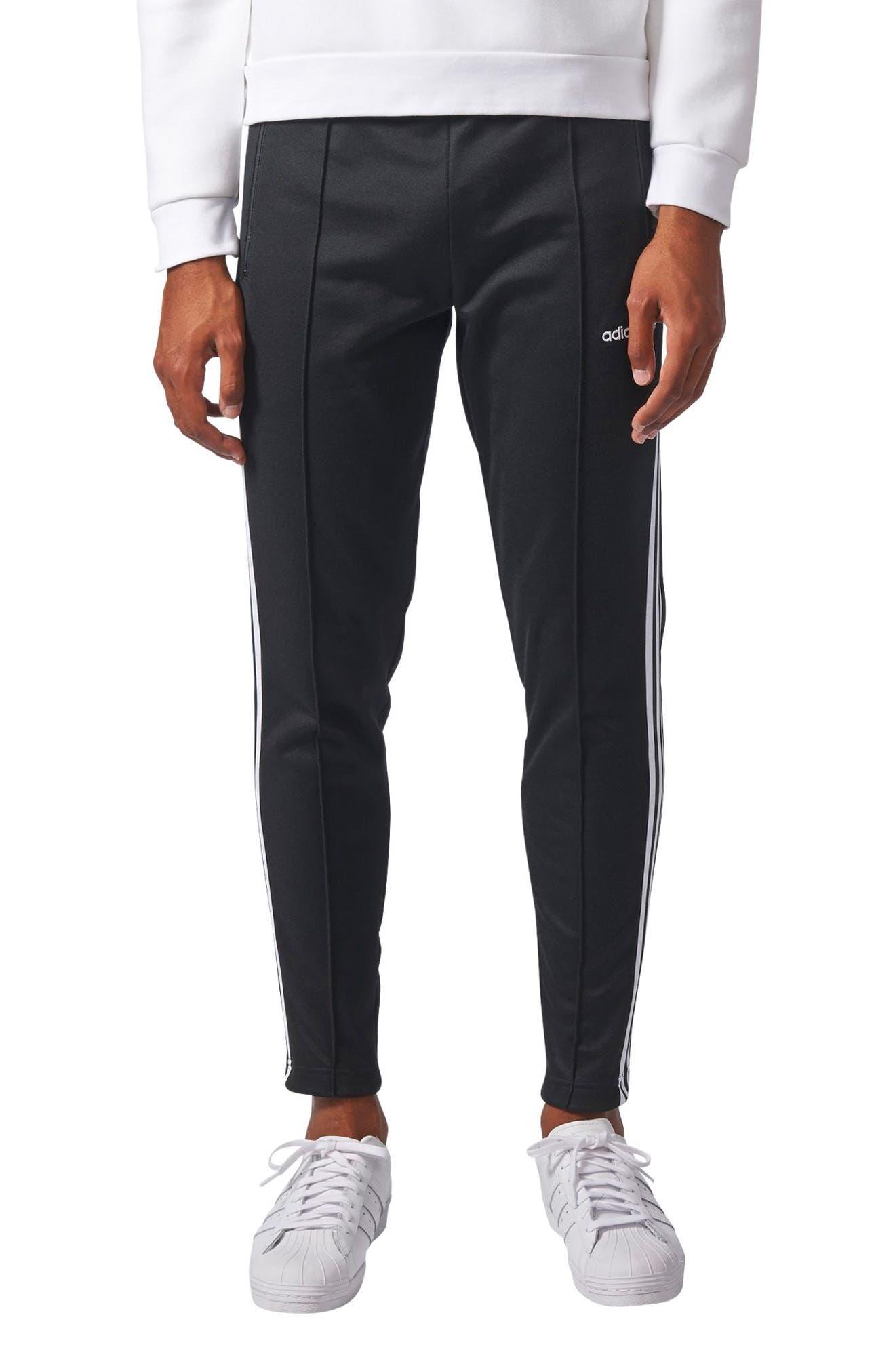 Main Image - adidas Originals Beckenbauer Open Hem Track Pants