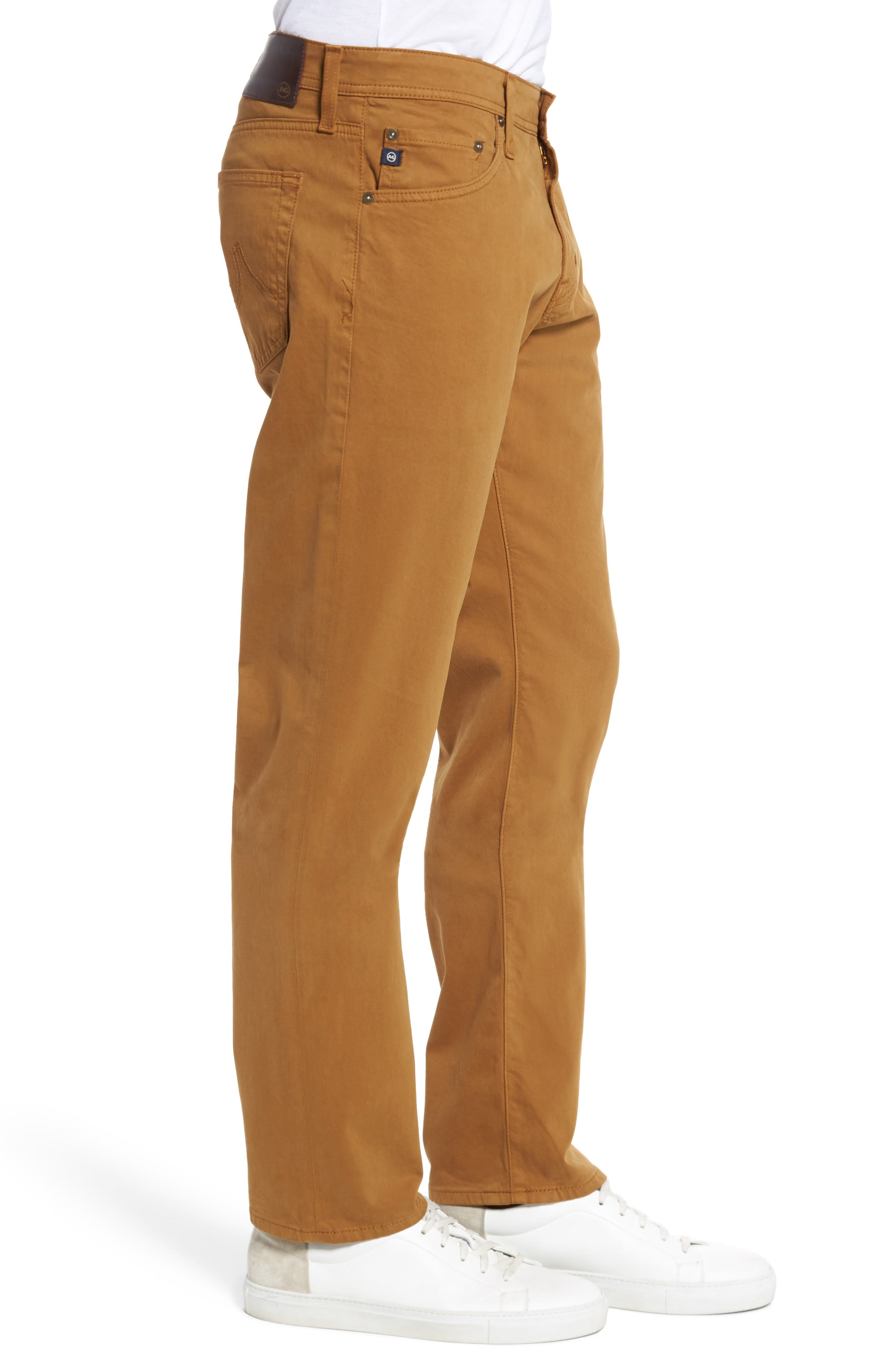 Graduate SUD Slim Straight Leg Pants,                             Alternate thumbnail 3, color,                             Burnt Saffron (Bfn)