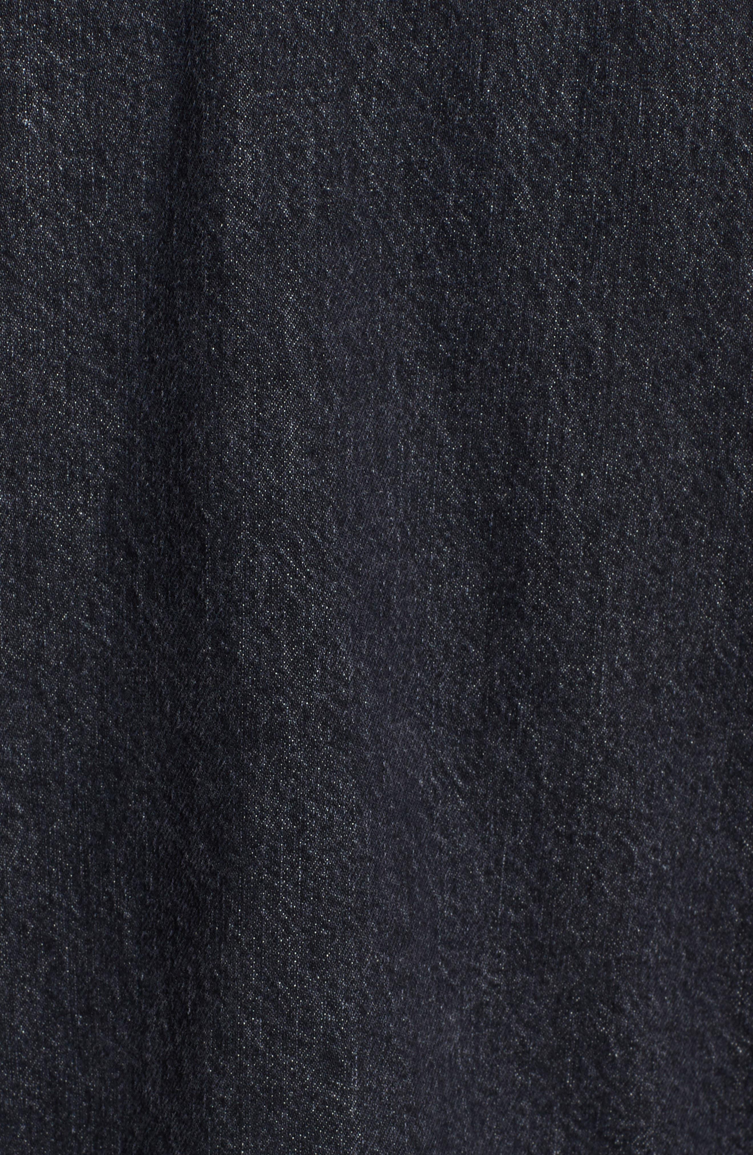 Alternate Image 5  - Hudson Denim Trucker Jacket
