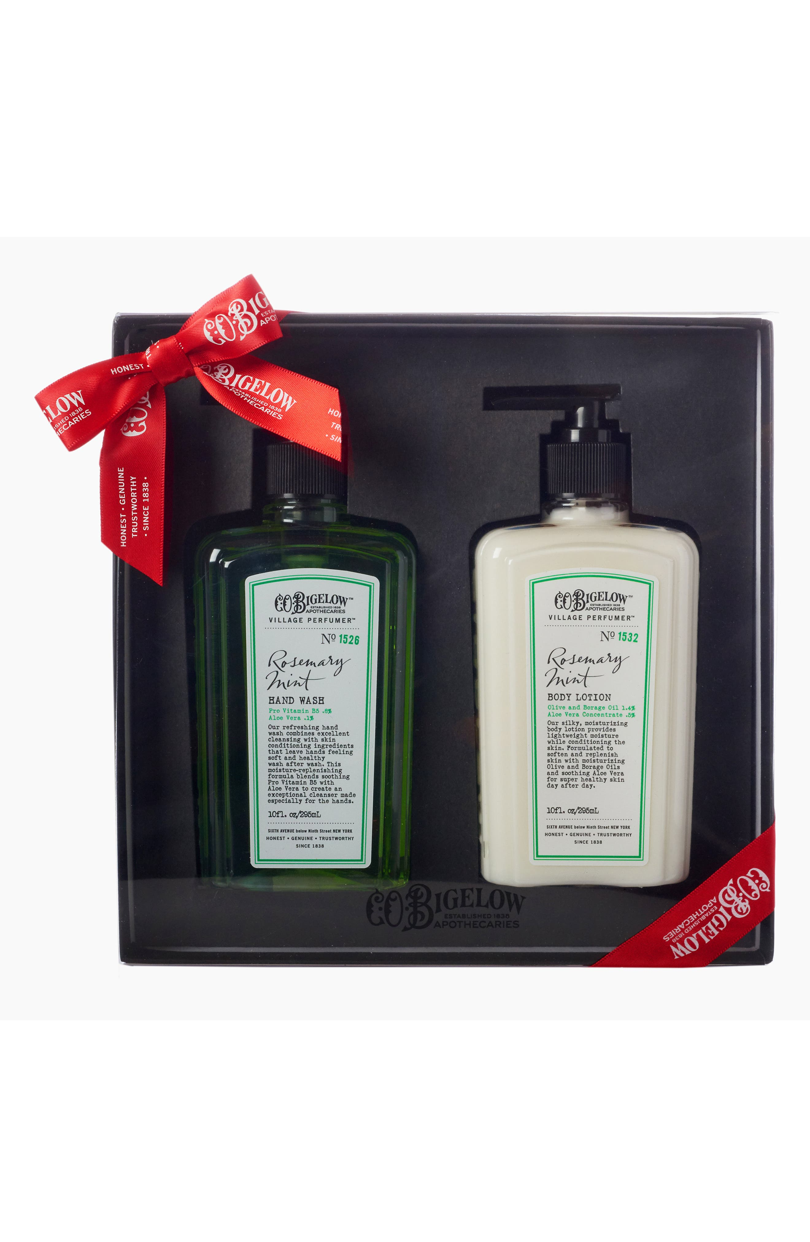 C.O. Bigelow® Rosemary Mint Hand Wash & Body Lotion Duo