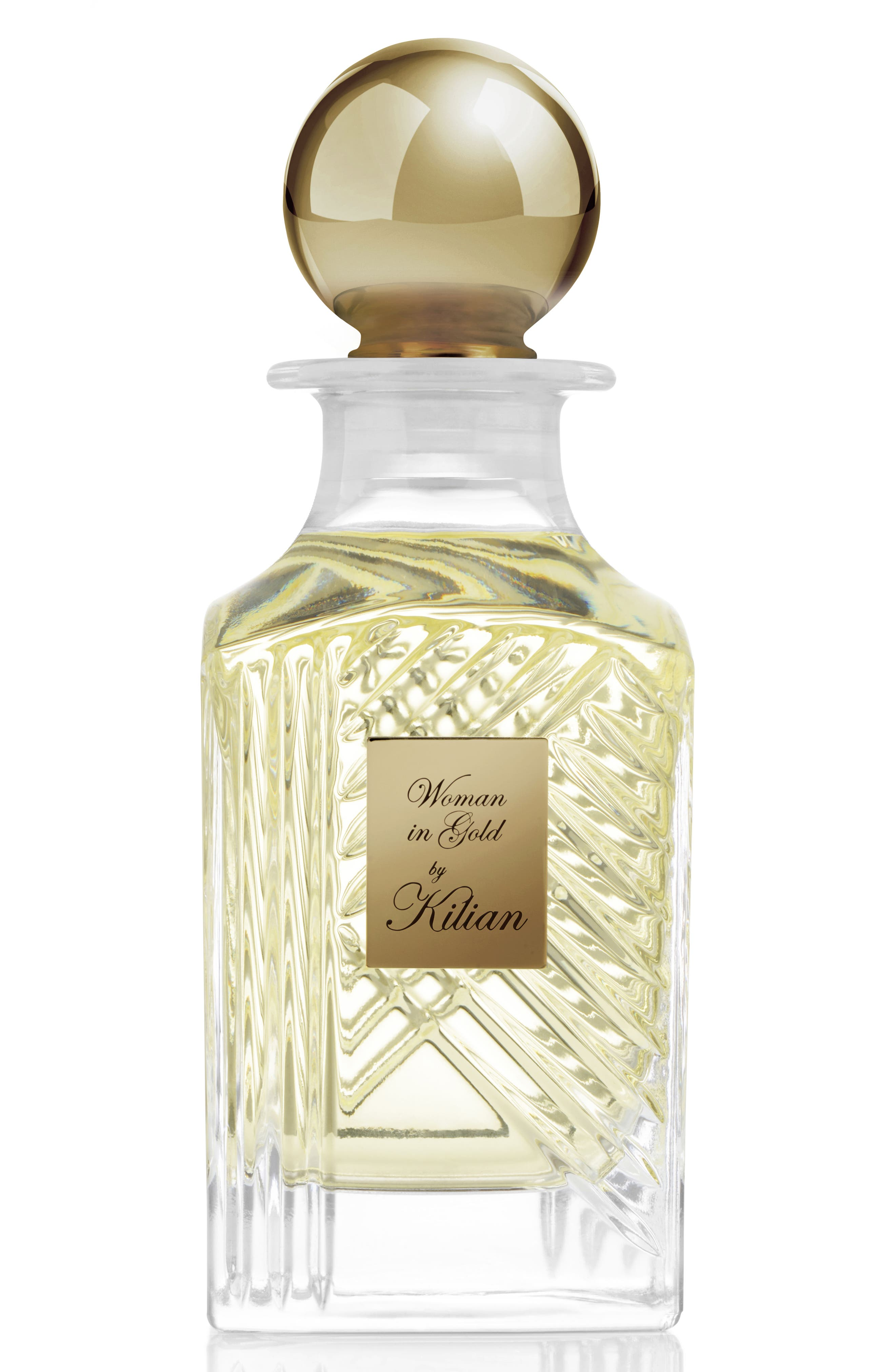 Woman in Gold Collector's Edition Mini Carafe Perfume,                             Main thumbnail 1, color,                             No Color