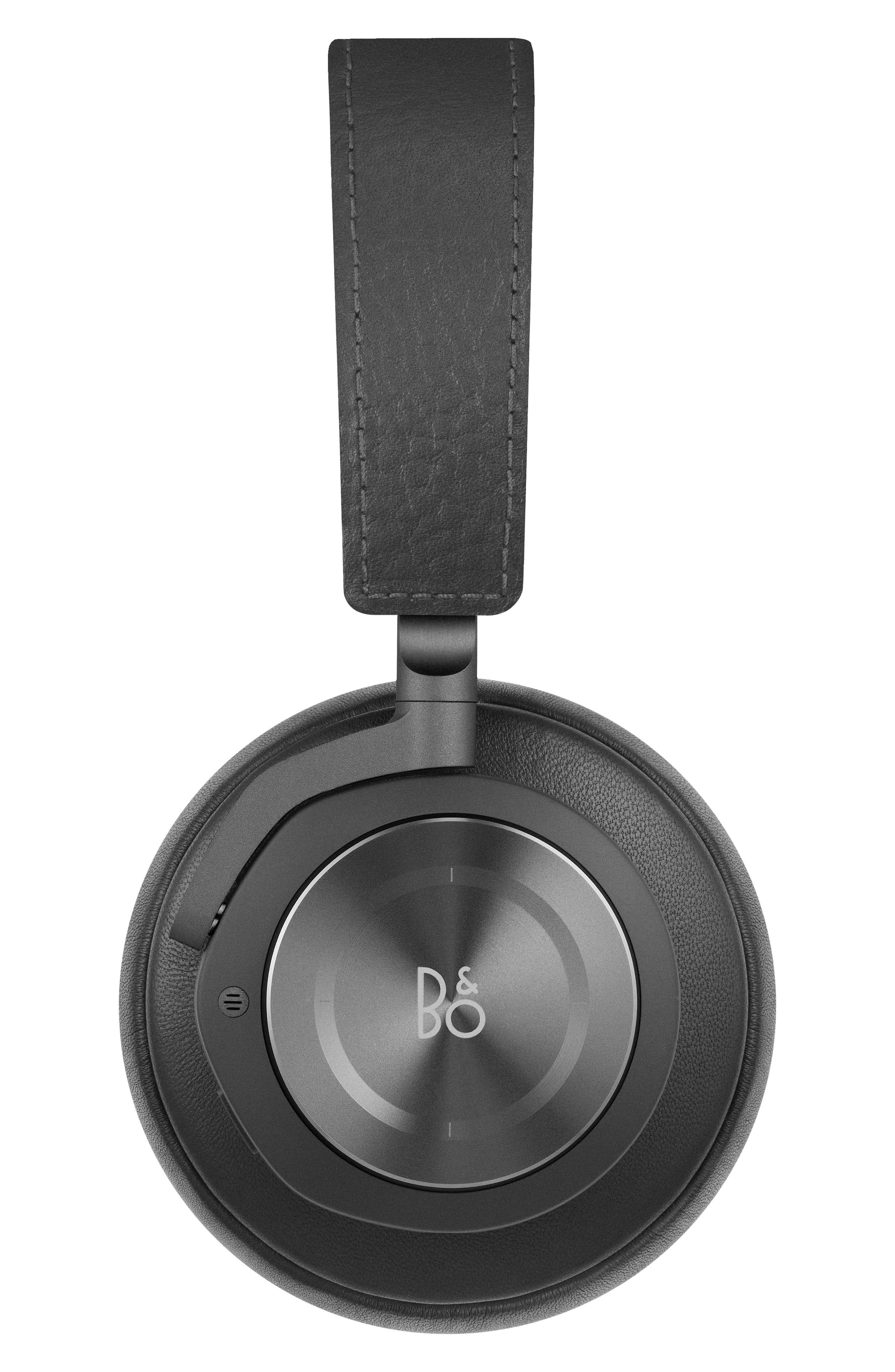 H9 Wireless Noise Canceling on-Ear Headphones,                             Alternate thumbnail 2, color,                             Black