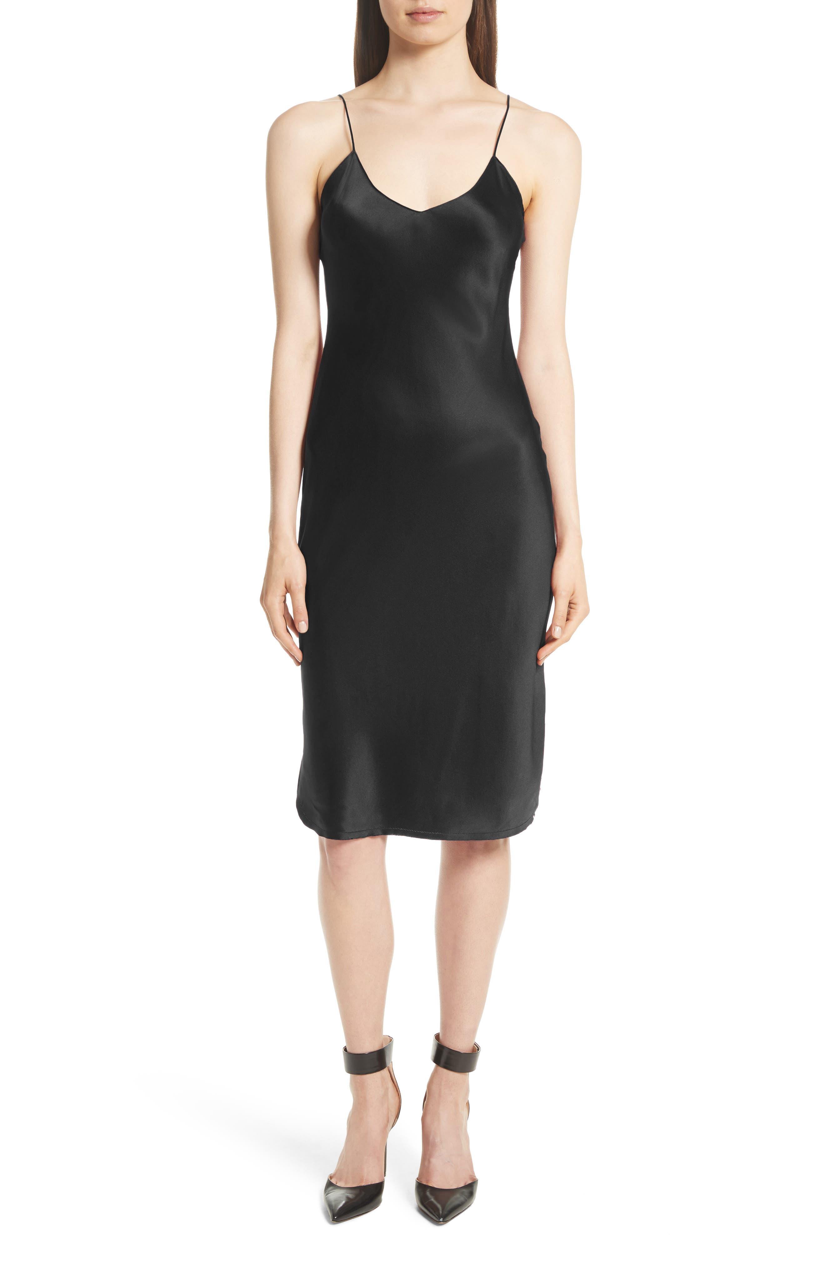 90b83c388f8b navy silk dress | Nordstrom