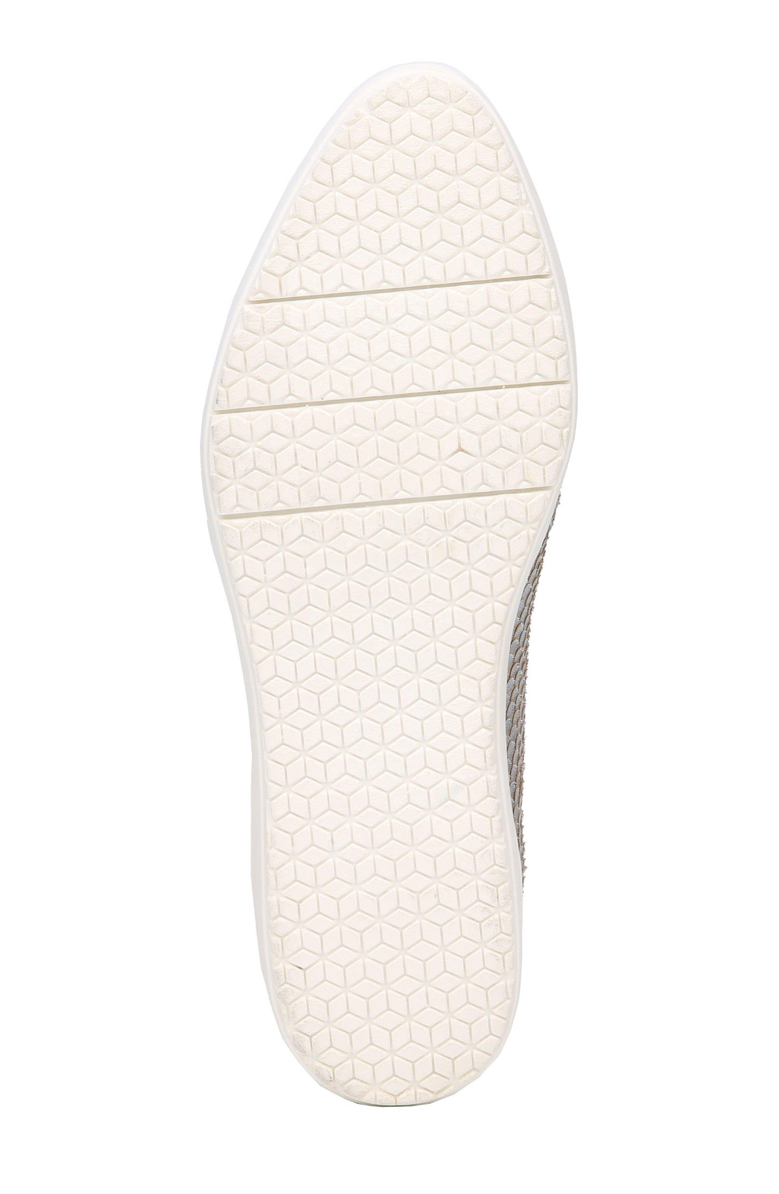 Bradyn Slip-On Sneaker,                             Alternate thumbnail 6, color,                             Silver Leather