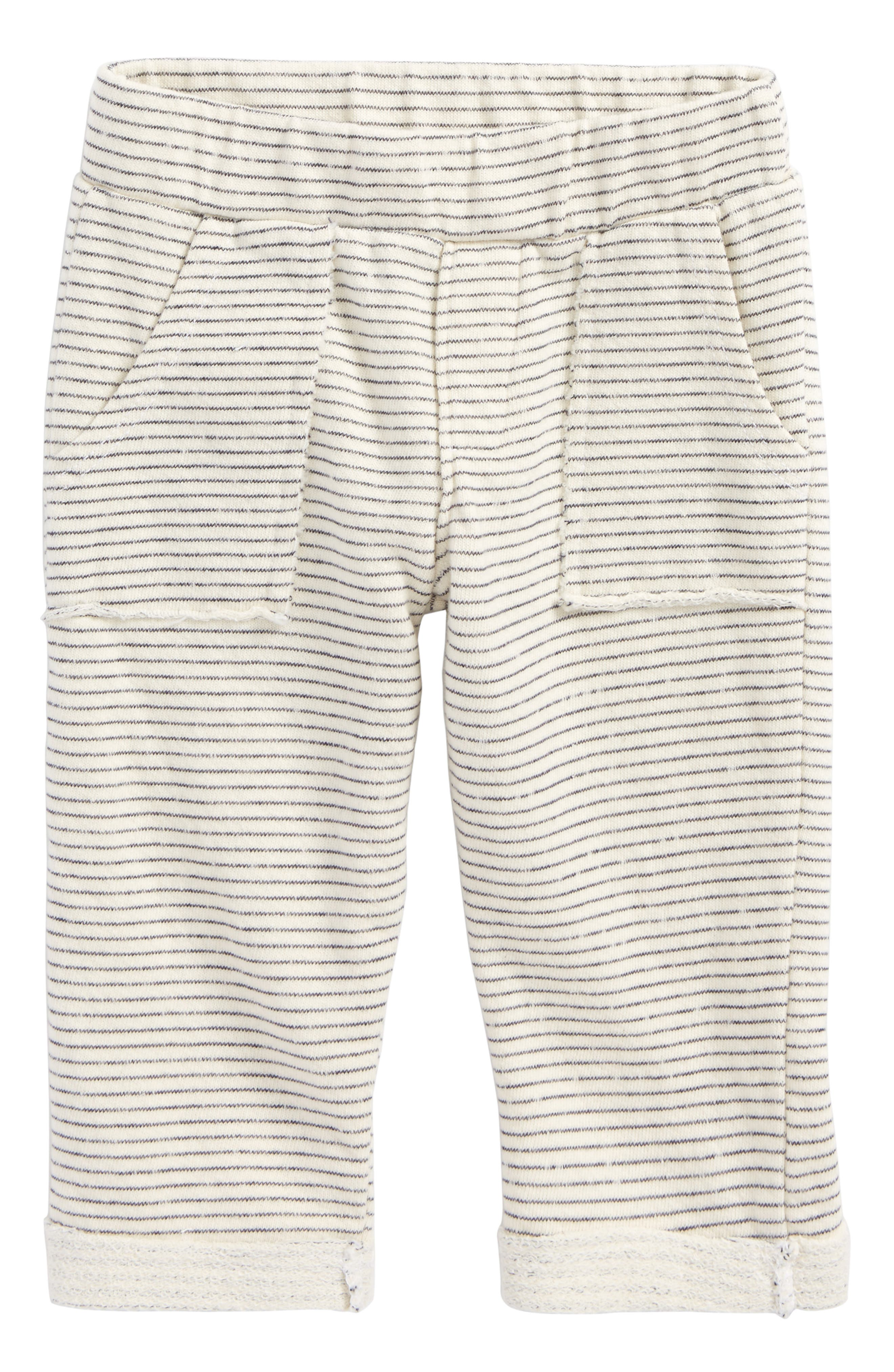 Main Image - Joah Love Stripe Sweatpants (Baby Boys)