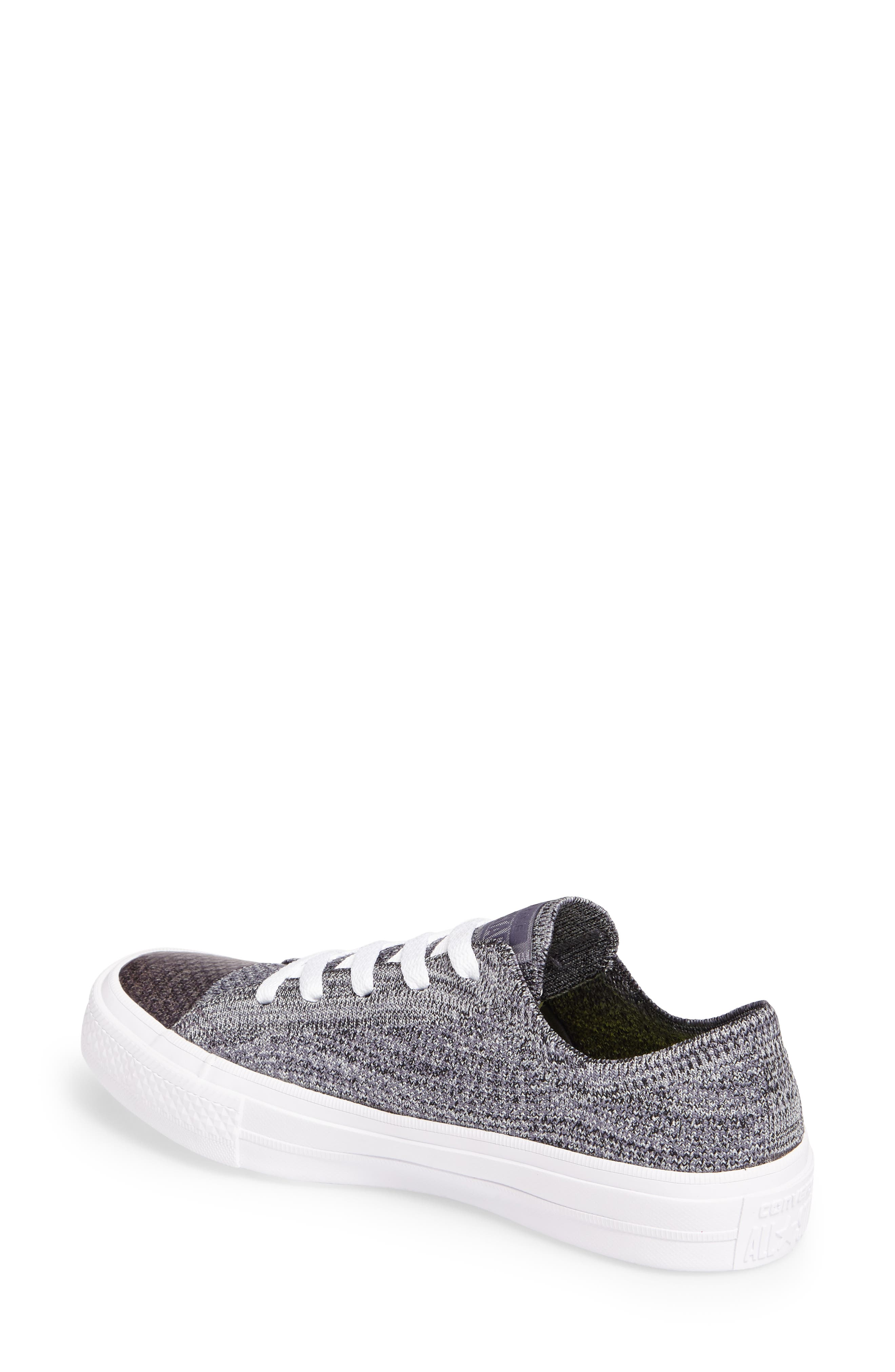 All Star<sup>®</sup> Flyknit Low Sneaker,                             Alternate thumbnail 2, color,                             Thunder Flyknit