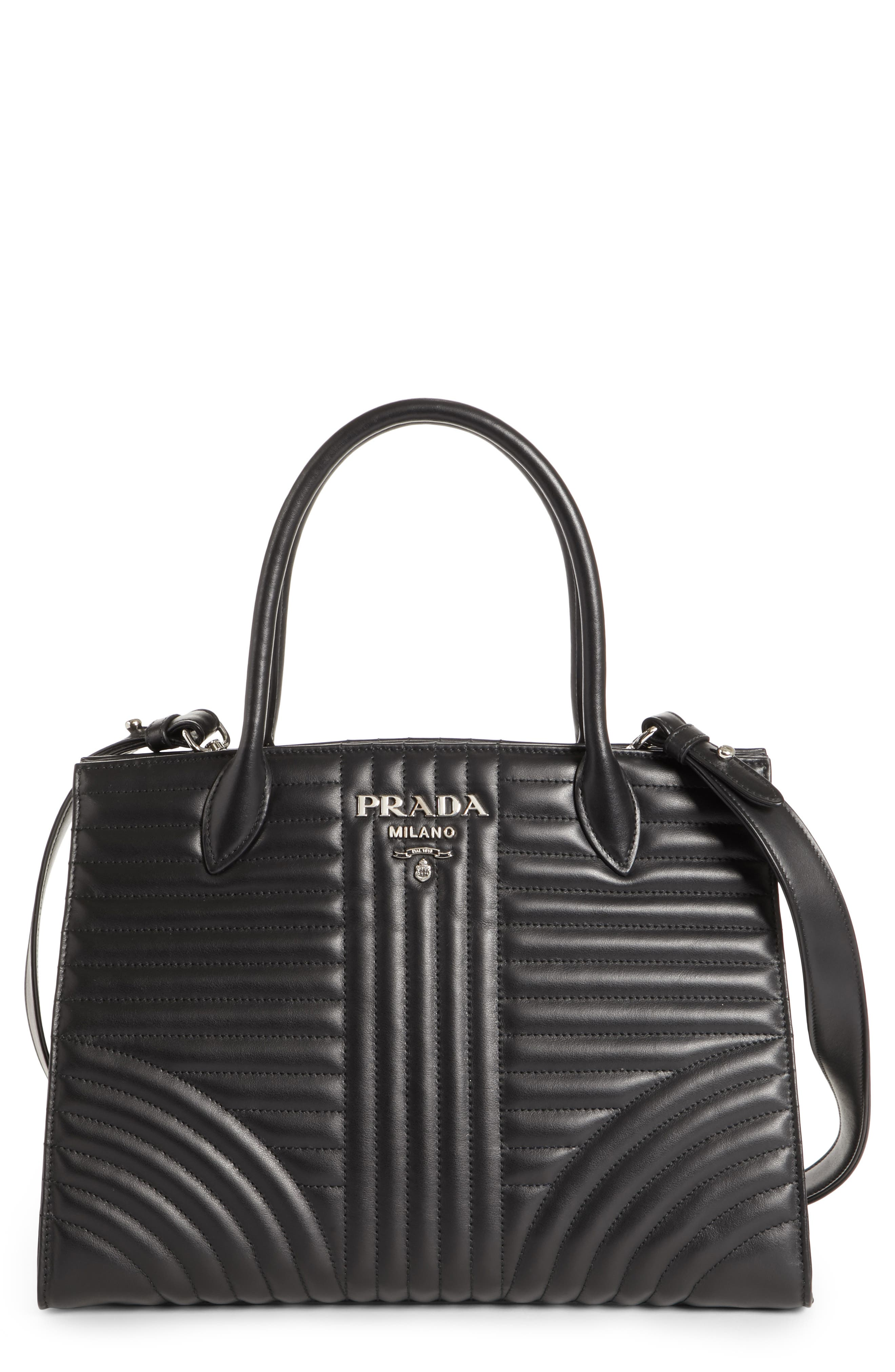 Prada Quilted Paradigme Tote