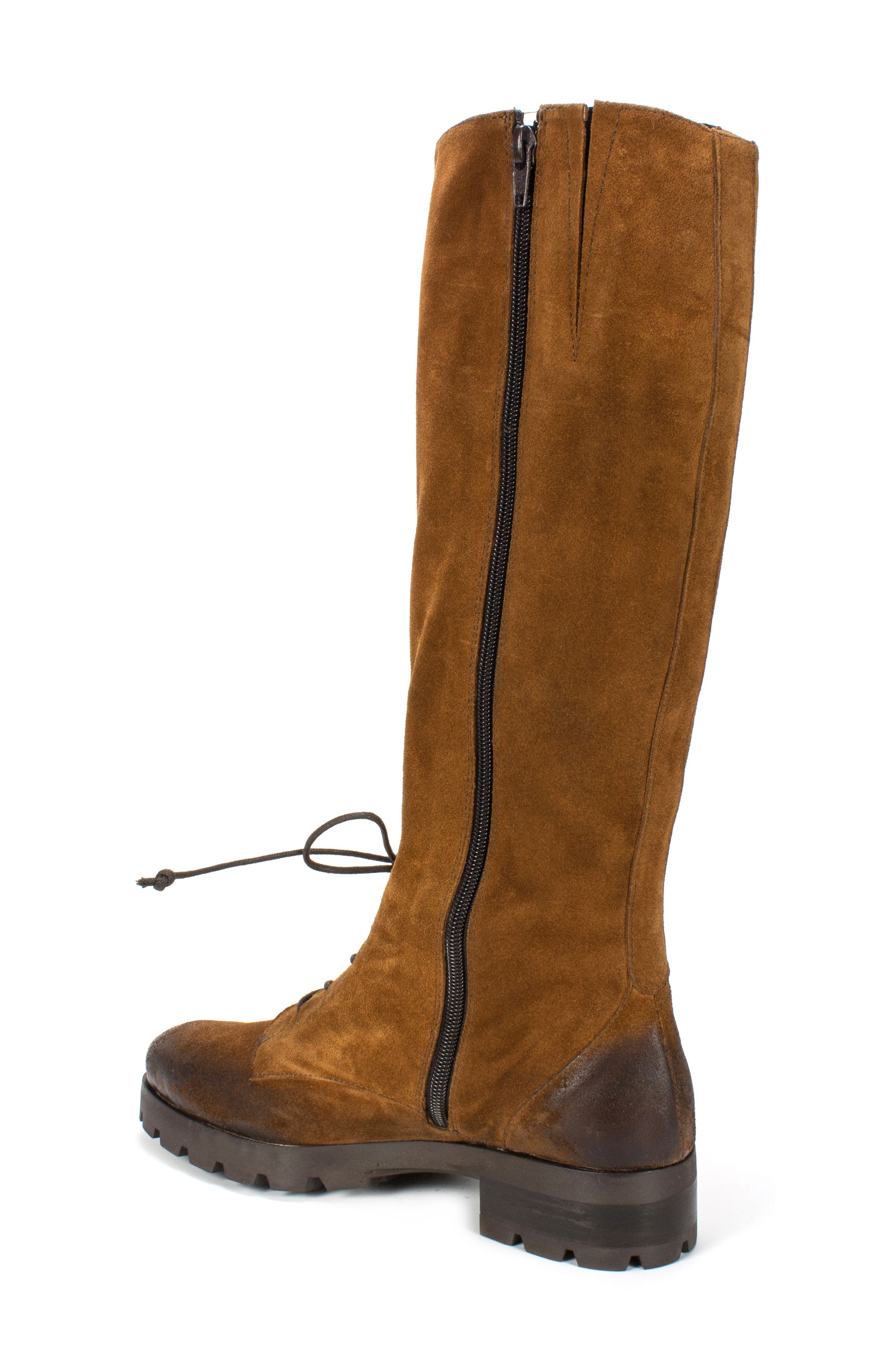 Dobbs Boot,                             Alternate thumbnail 2, color,                             Camel Suede