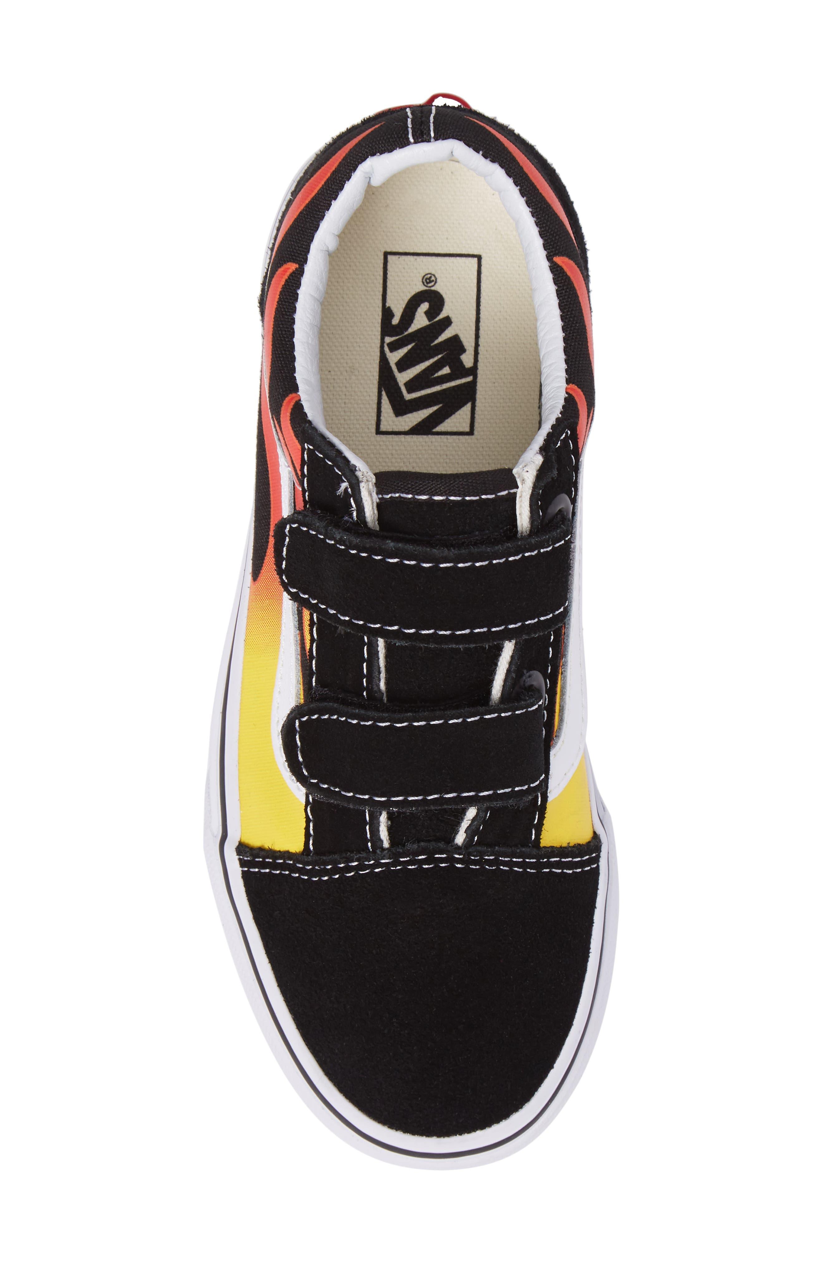 Alternate Image 5  - Vans Old Skool V Sneaker (Baby, Walker, Toddler, Little Kid & Big Kid)