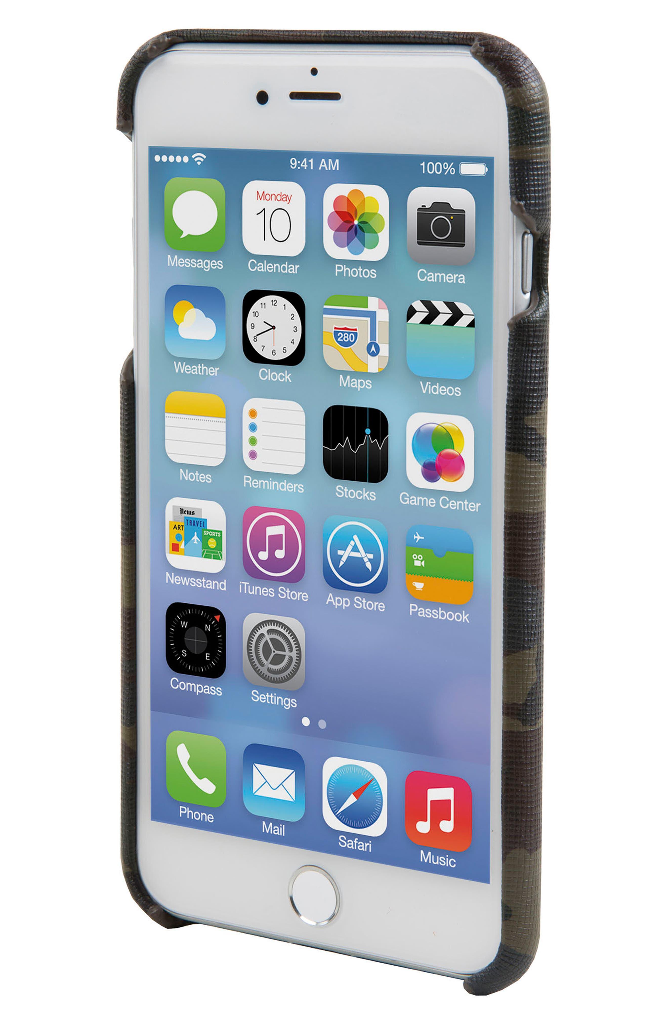 Solo iPhone 6/6s/7/8 Plus Wallet Case,                             Alternate thumbnail 4, color,                             Camo/ Reflective