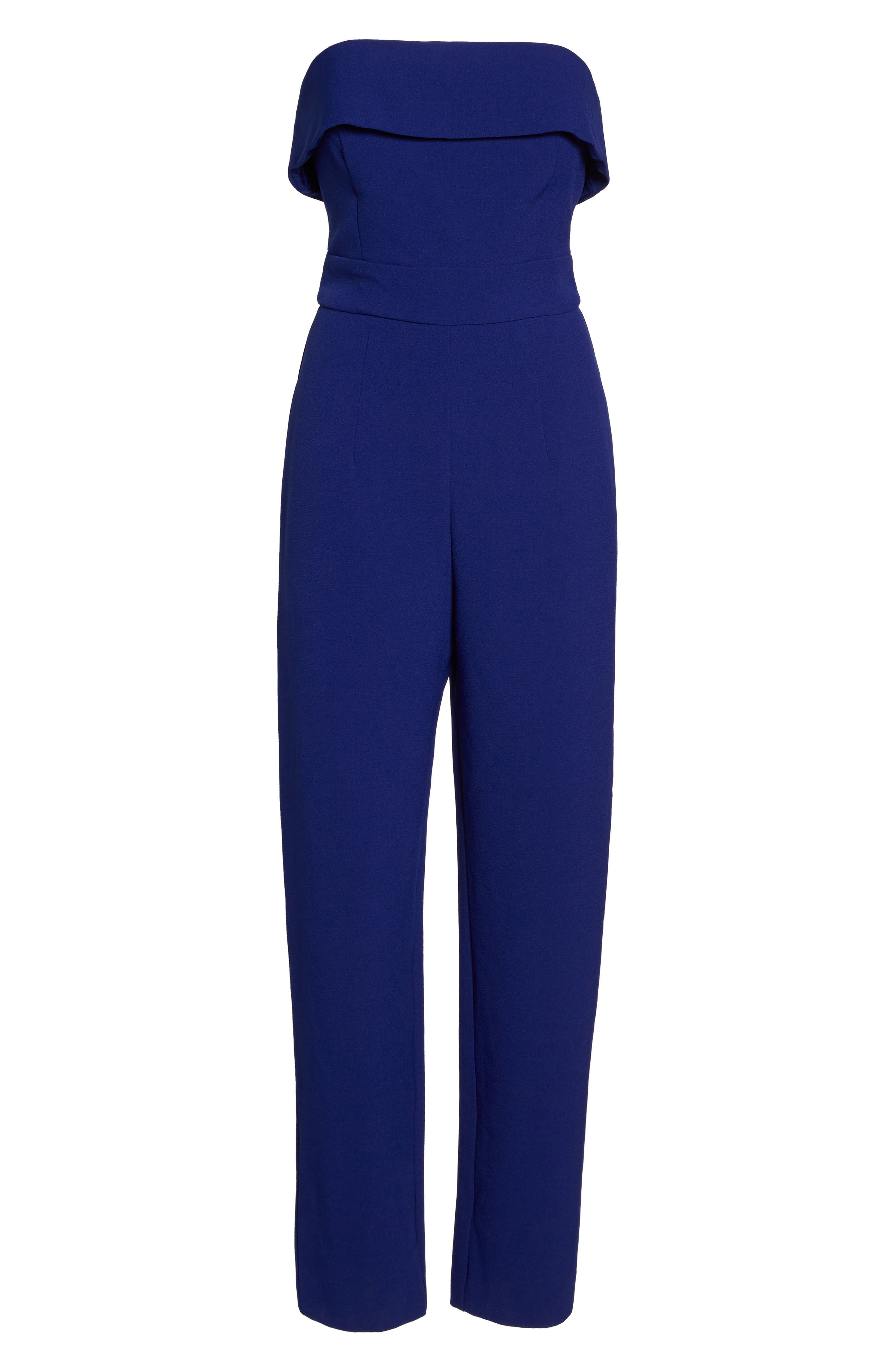 Alternate Image 7  - Vince Camuto Strapless Jumpsuit (Regular & Petite)