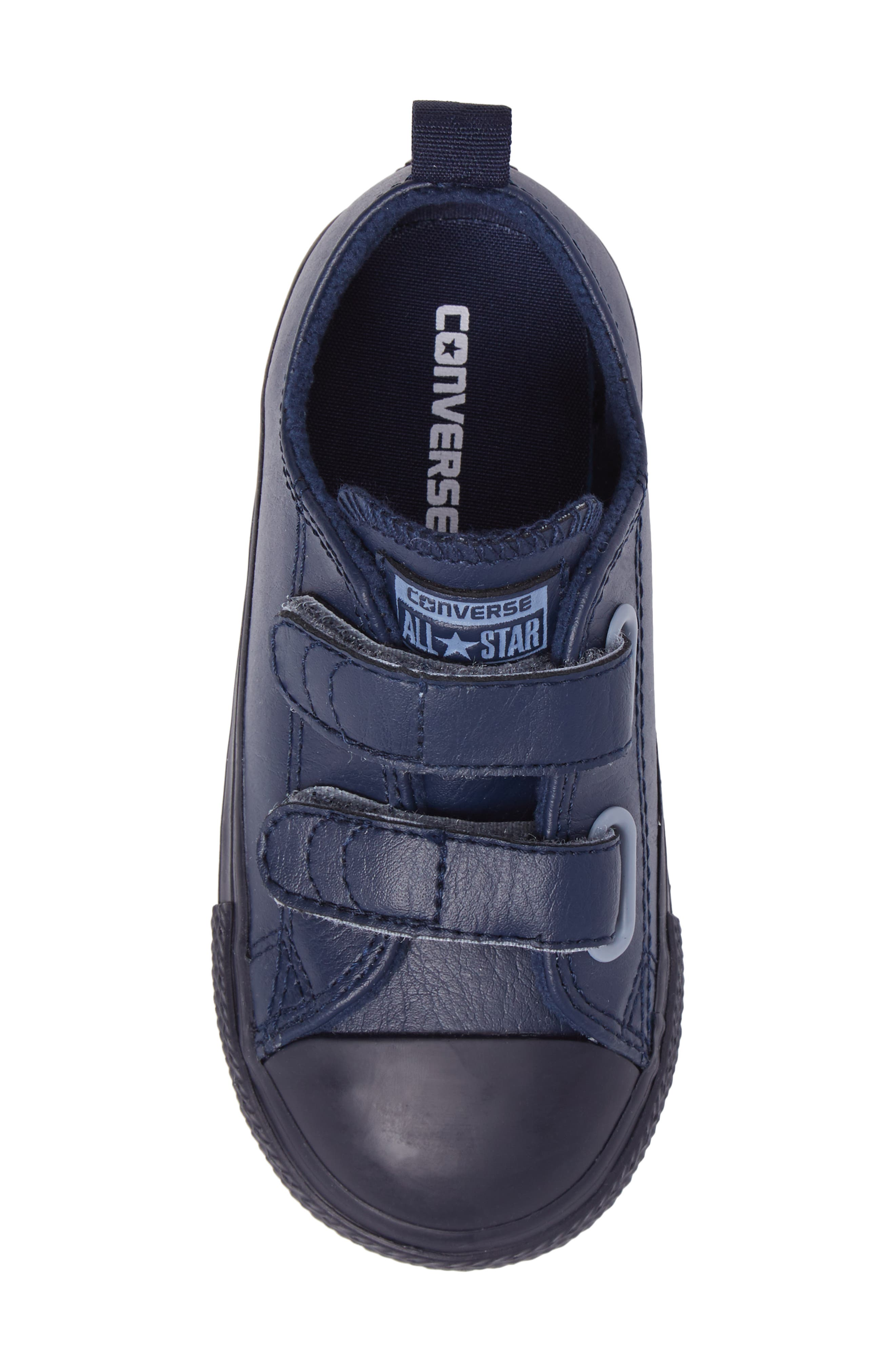 Chuck Taylor<sup>®</sup> All Star<sup>®</sup> 2V Low Top Sneaker,                             Alternate thumbnail 5, color,                             Midnight Leather