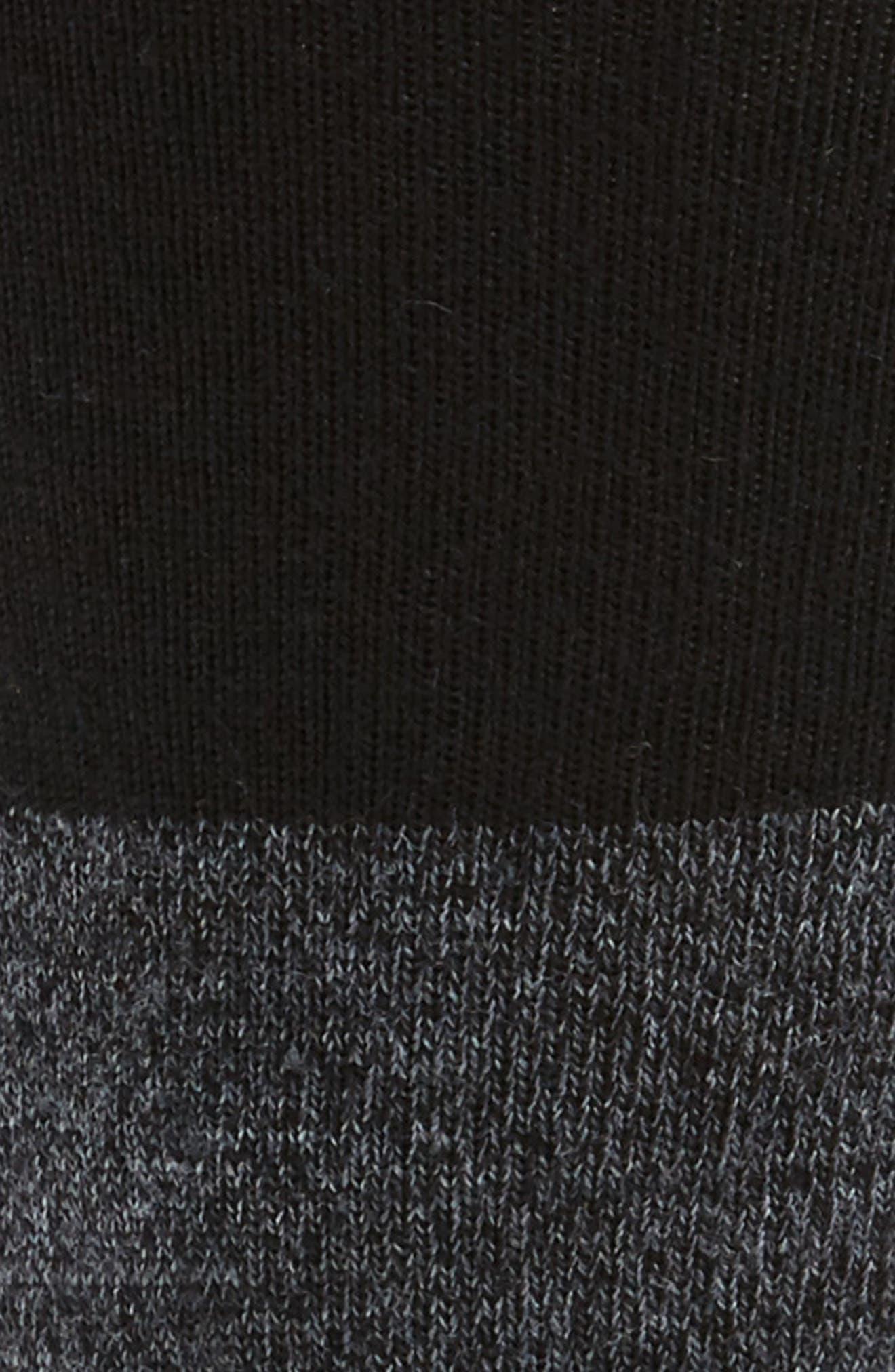 Faversham Colorblock Socks,                             Alternate thumbnail 2, color,                             Medium Grey Heather