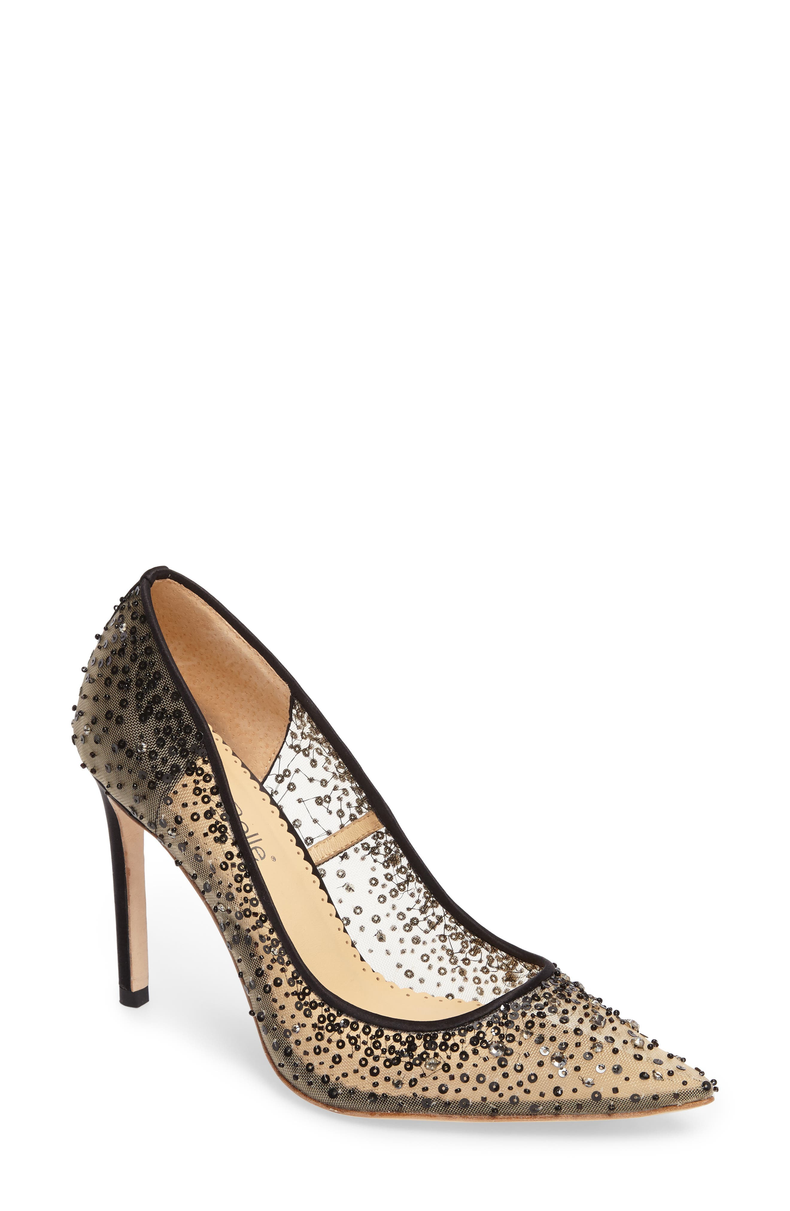 Alternate Image 1 Selected - Bella Belle Elsa Beaded Illusion Pump (Women)