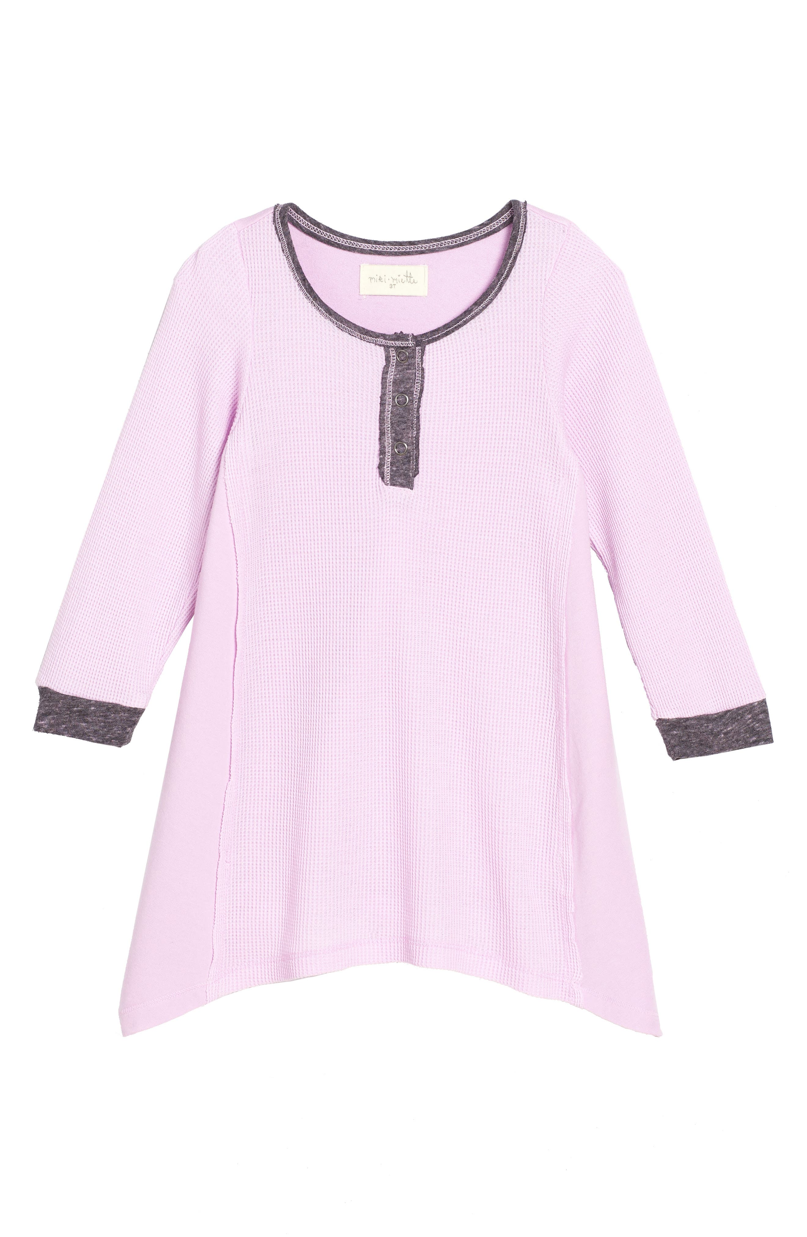 Riley Thermal Dress,                         Main,                         color, Wisteria